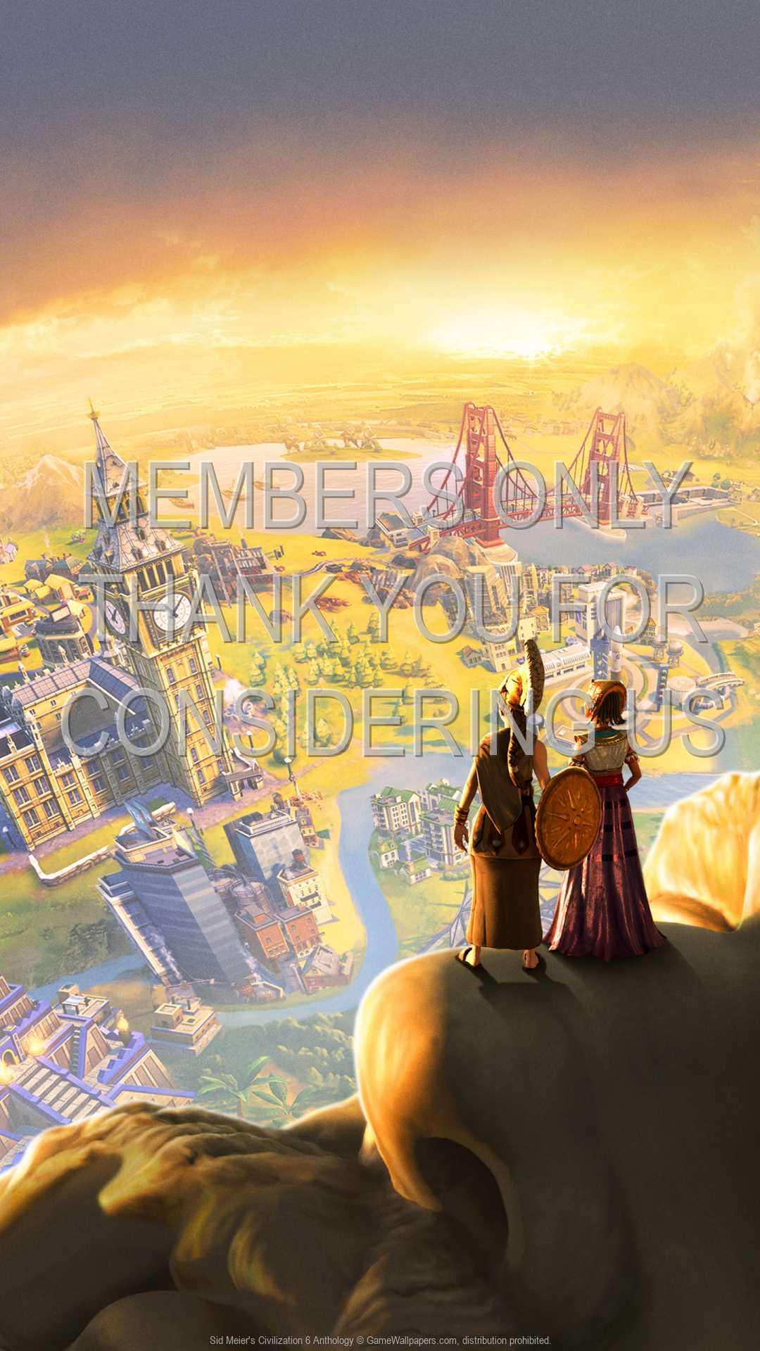 Sid Meier's Civilization 6: Anthology 1080p Vertical Mobile fond d'écran 01
