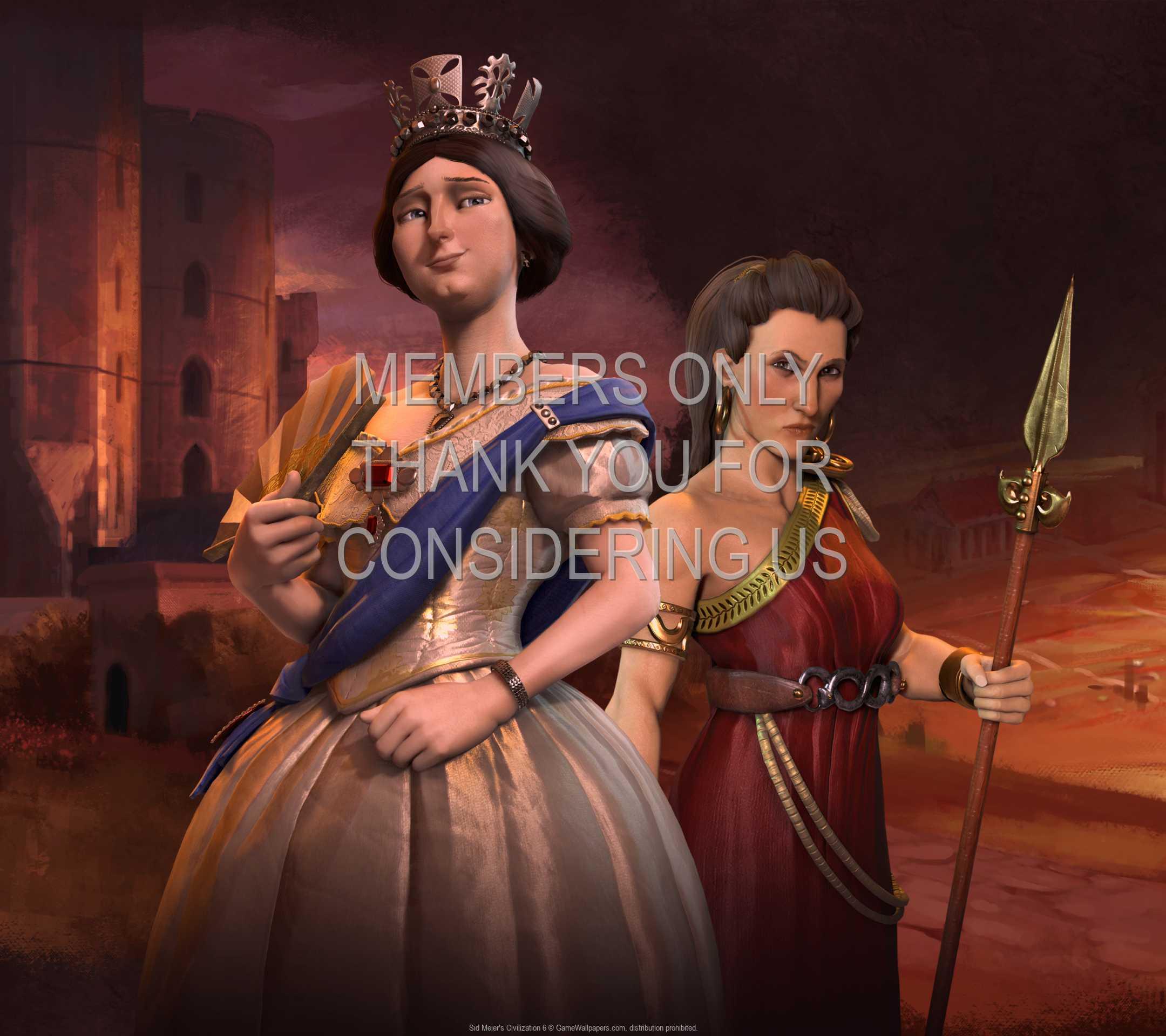 Sid Meier's Civilization 6 1080p Horizontal Mobiele achtergrond 05