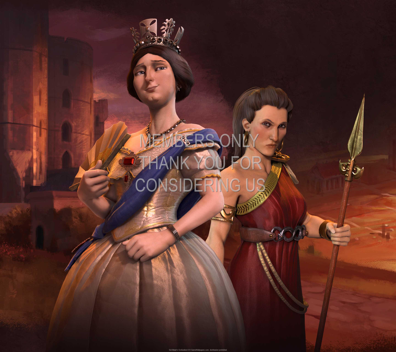 Sid Meier's Civilization 6 1440p Horizontal Mobiele achtergrond 05