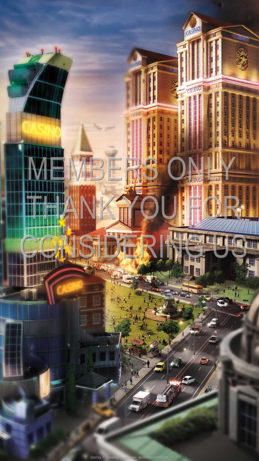 SimCity 1080p Vertical Handy Hintergrundbild 04