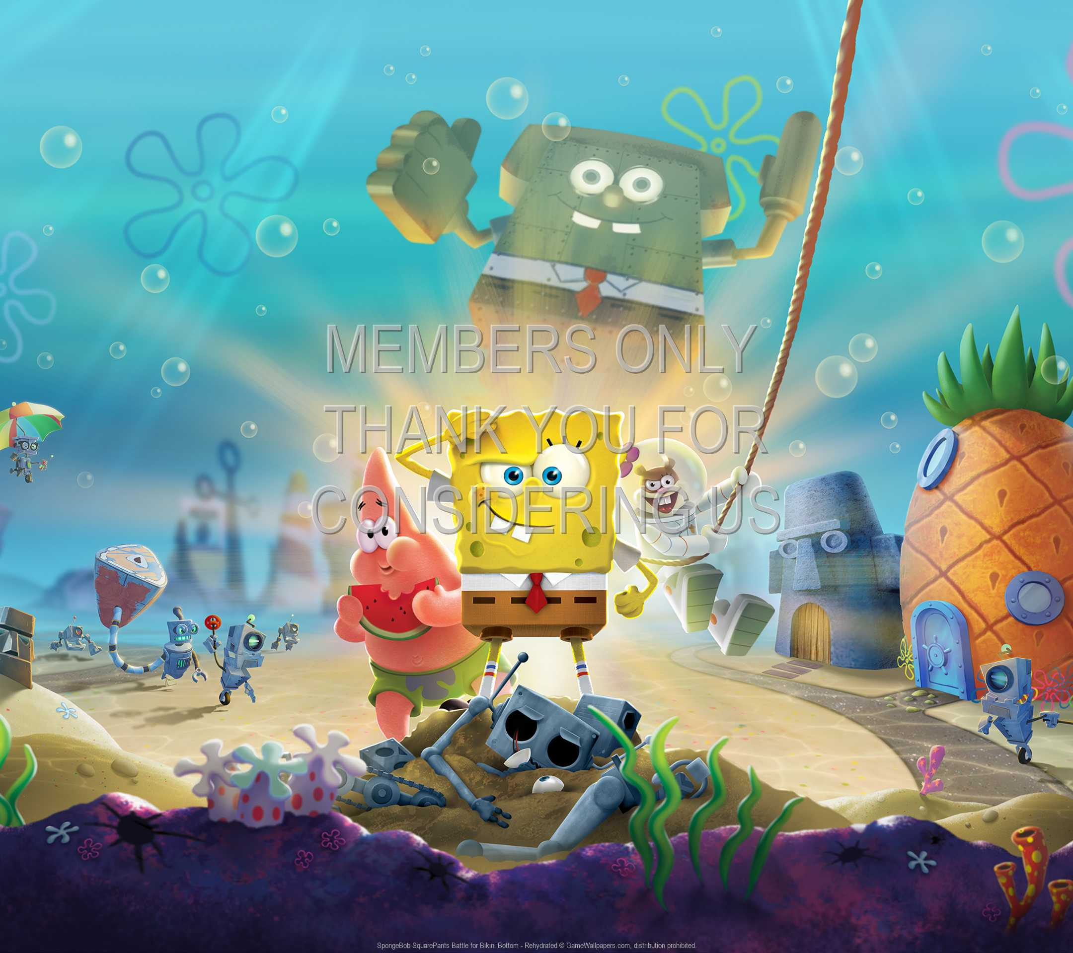 SpongeBob SquarePants: Battle for Bikini Bottom - Rehydrated 1080p Horizontal Mobile wallpaper or background 01