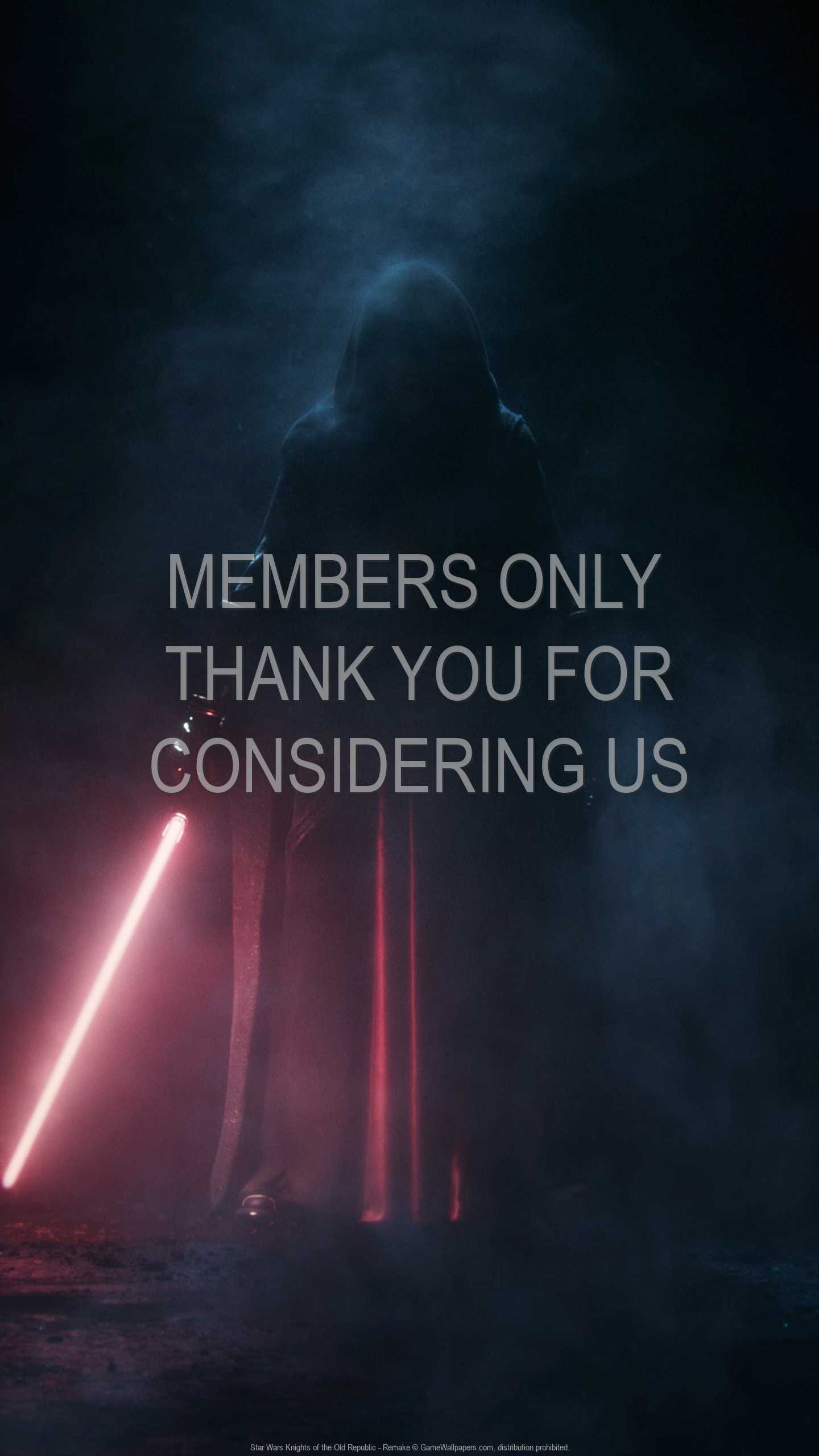 Star Wars: Knights of the Old Republic - Remake 1440p Vertical Handy Hintergrundbild 01