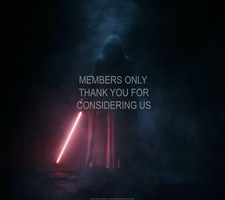 Star Wars: Knights of the Old Republic - Remake 1440p Horizontal Handy Hintergrundbild 01