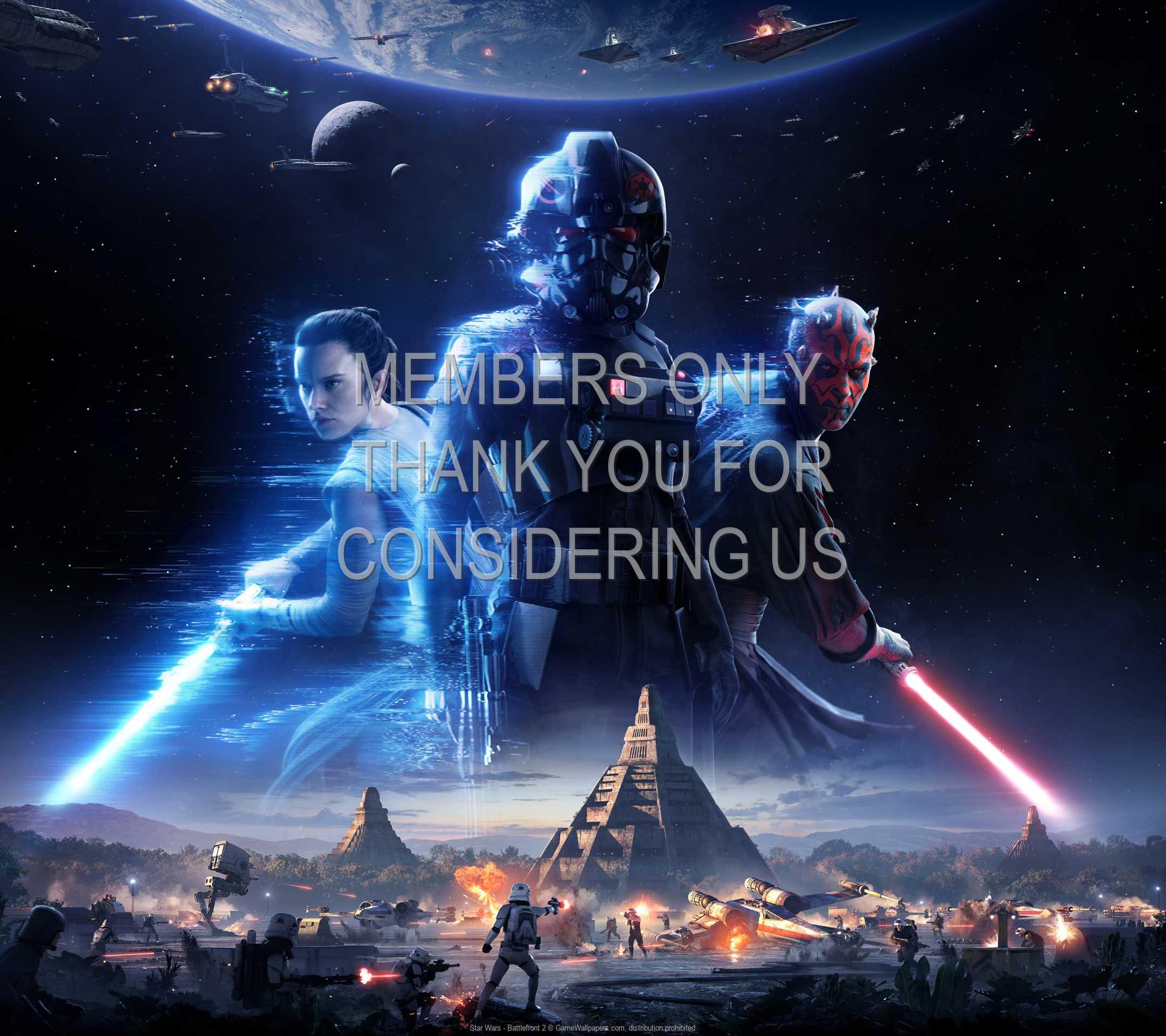 Star Wars - Battlefront 2 1080p Horizontal Móvil fondo de escritorio 01