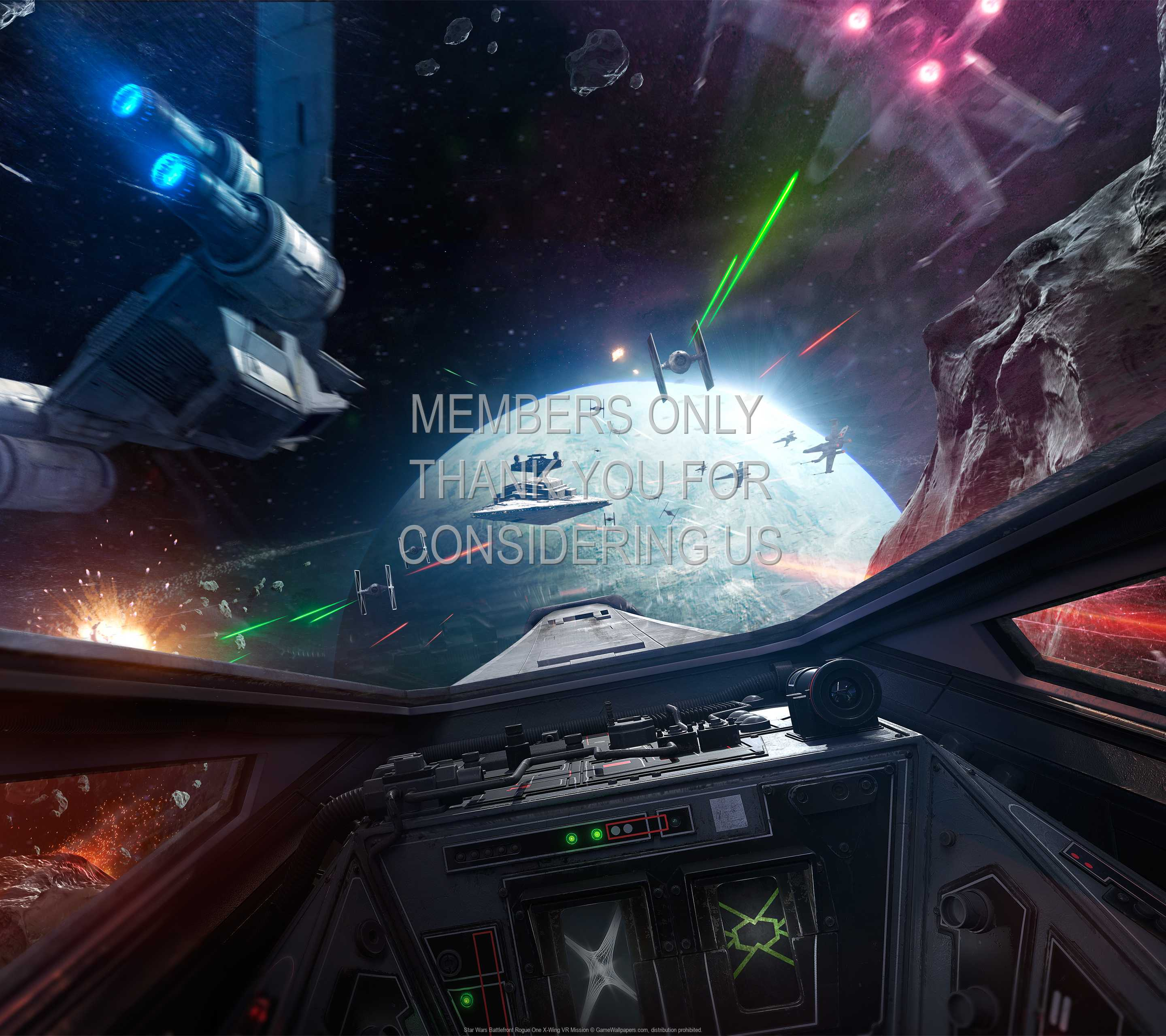 Star Wars Battlefront Rogue One X Wing Vr Mission Wallpaper 01 1440p Horizontal