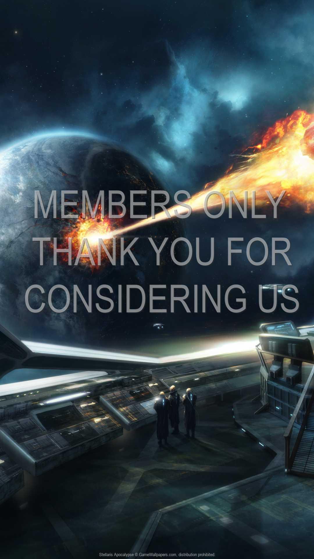 Stellaris: Apocalypse 1080p Vertical Mobile wallpaper or background 01