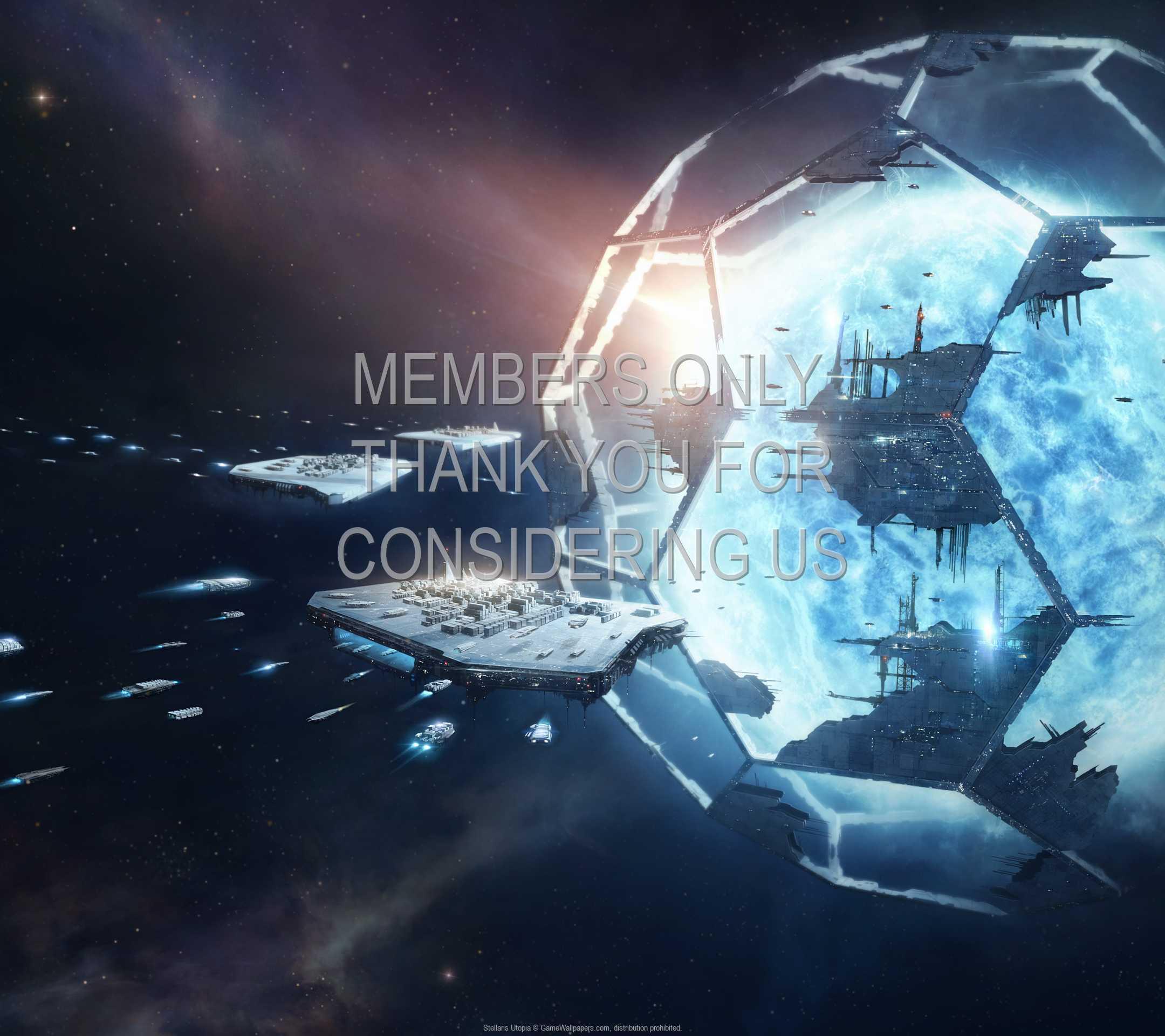 Stellaris Utopia 1080p Horizontal Mobile wallpaper or background 01