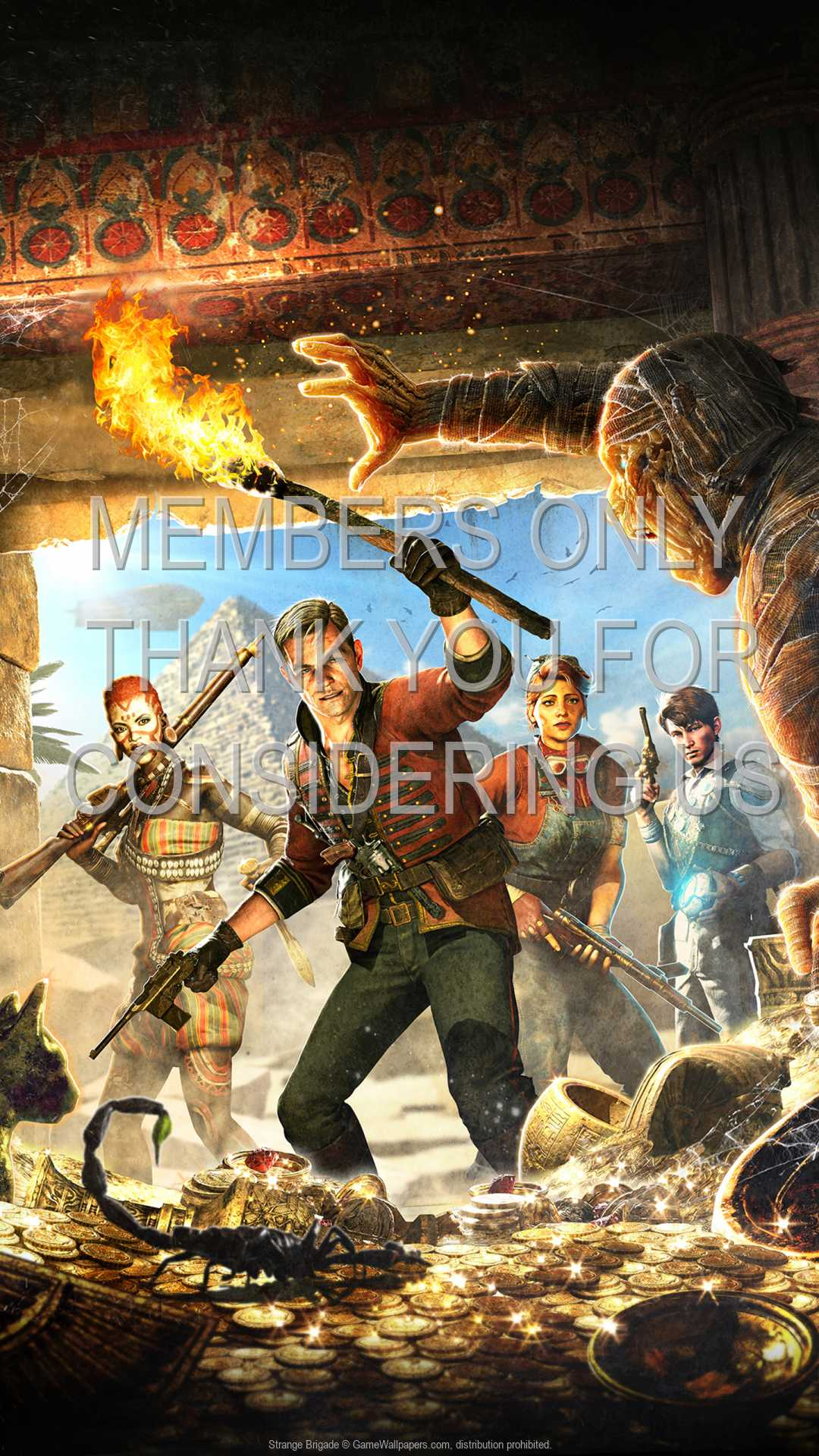 Strange Brigade 1080p Vertical Mobile wallpaper or background 01