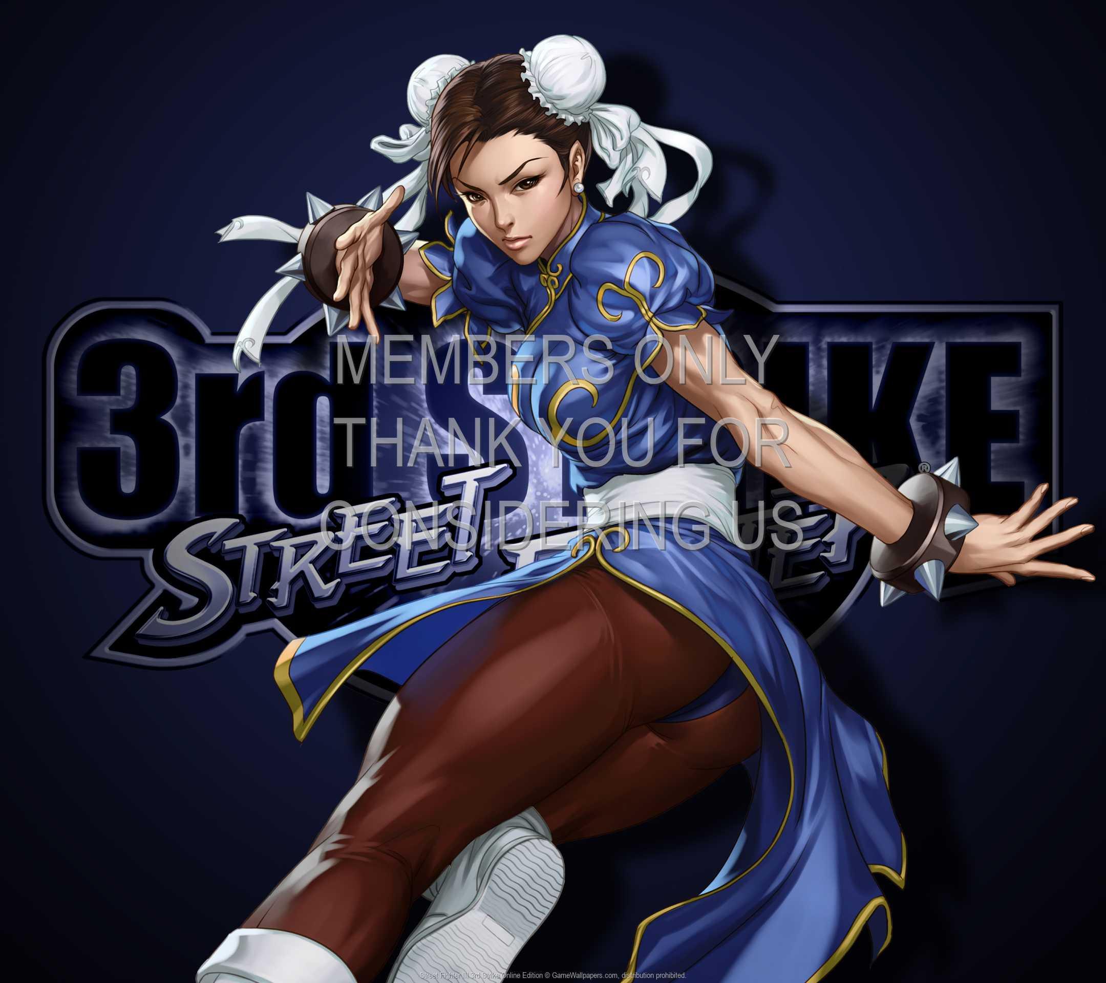 Street Fighter III: 3rd Strike Online Edition 1080p Horizontal Mobiele achtergrond 01