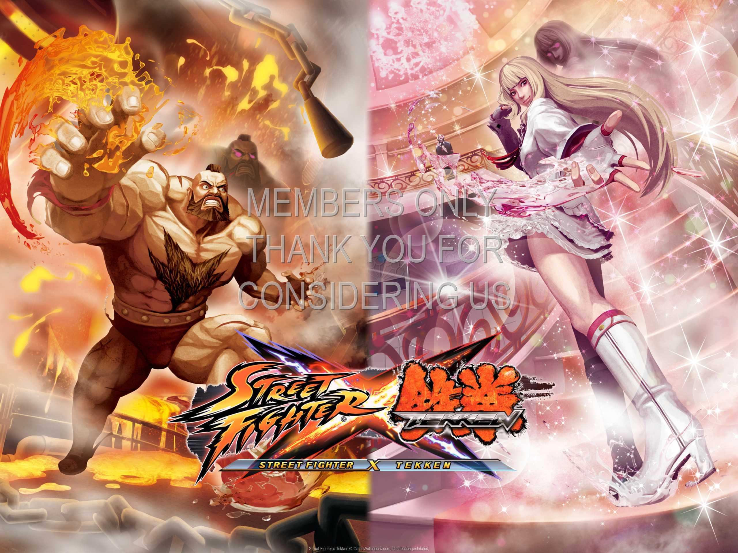 Street Fighter x Tekken 1080p Horizontal Mobile wallpaper or background 02