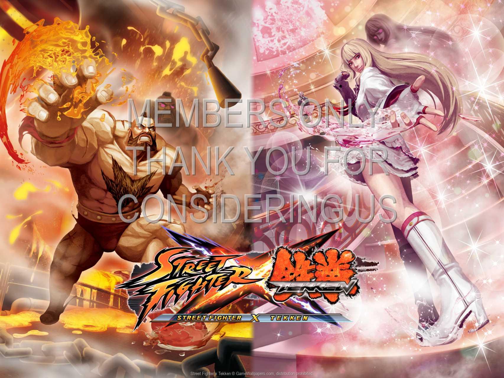 Street Fighter x Tekken 720p Horizontal Mobile wallpaper or background 02