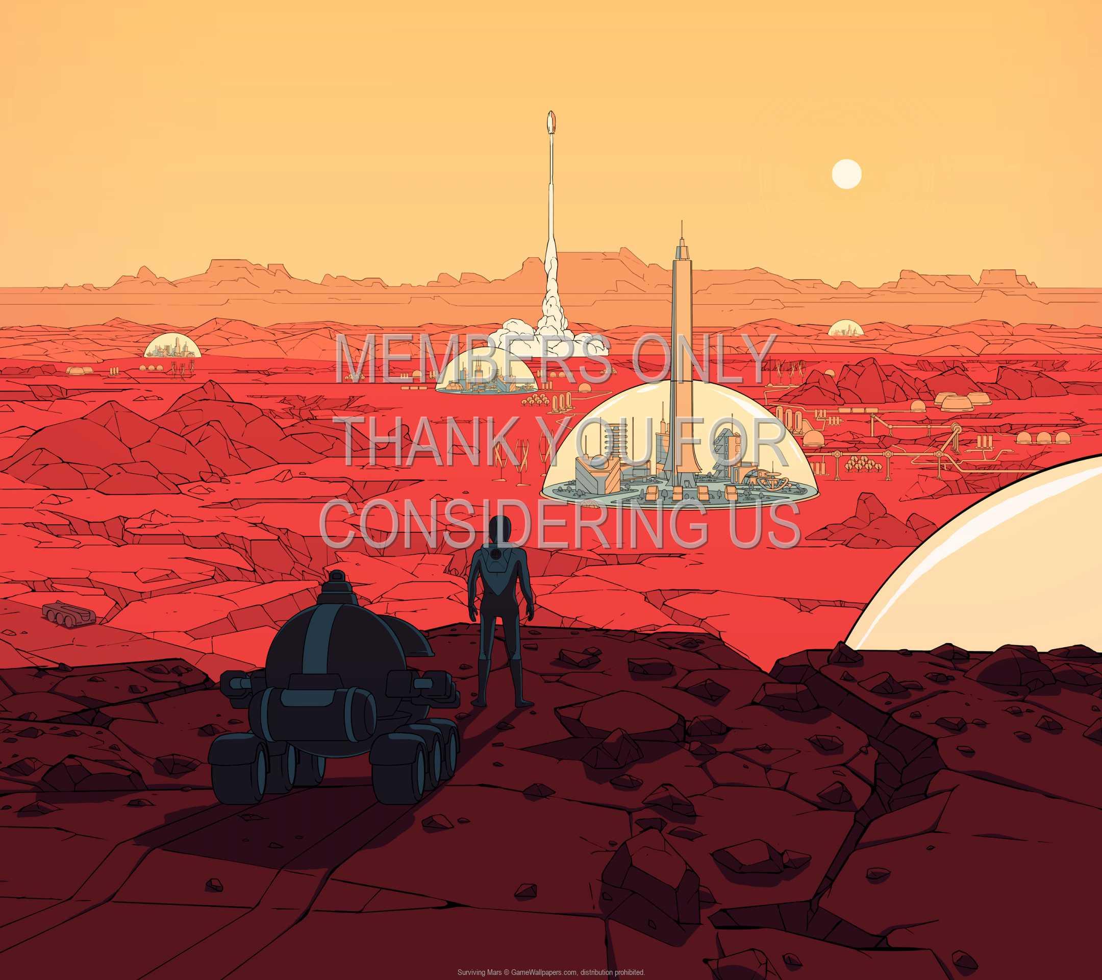 Surviving Mars 1080p Horizontal Handy Hintergrundbild 01