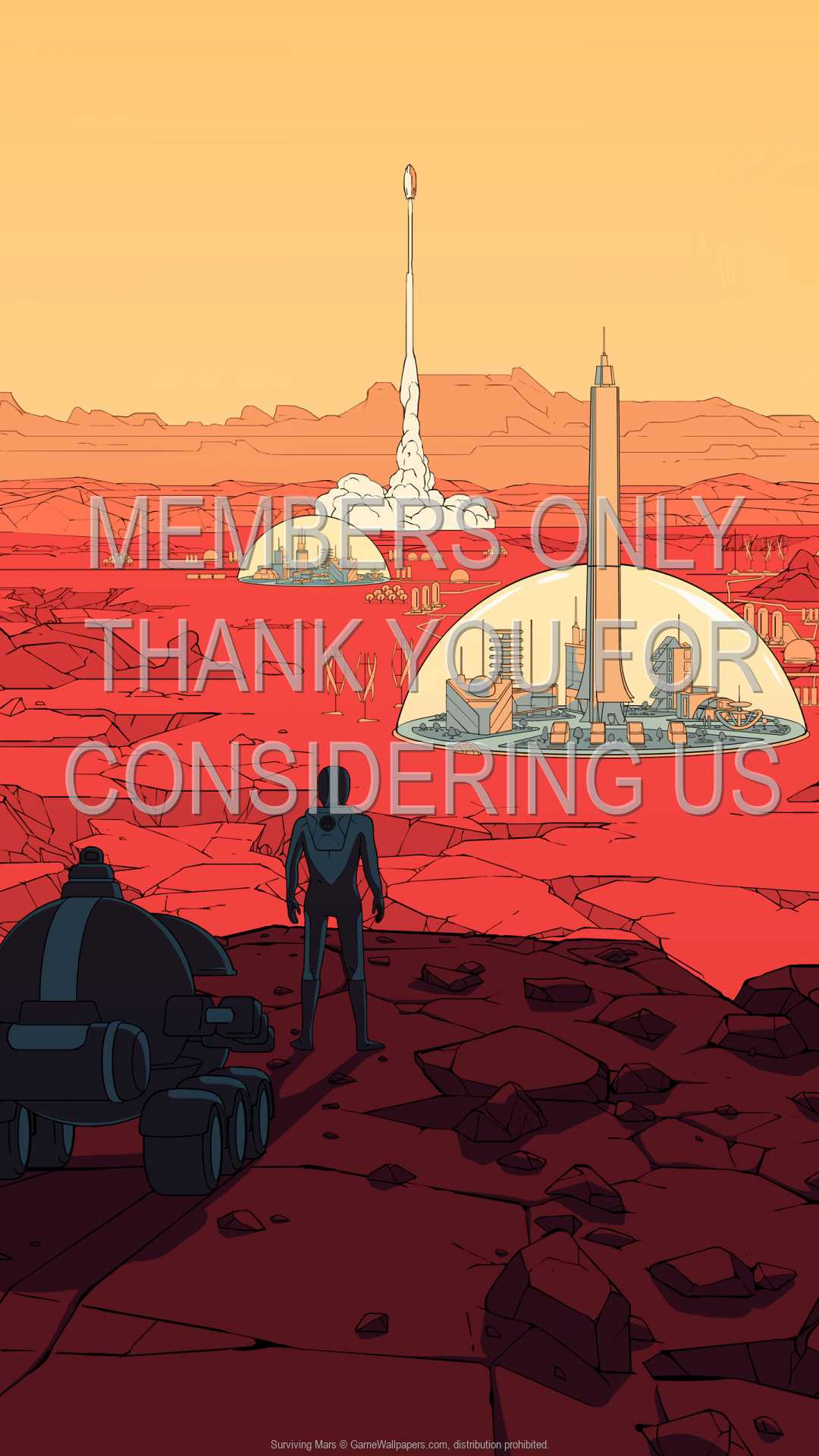Surviving Mars 1080p Vertical Handy Hintergrundbild 01