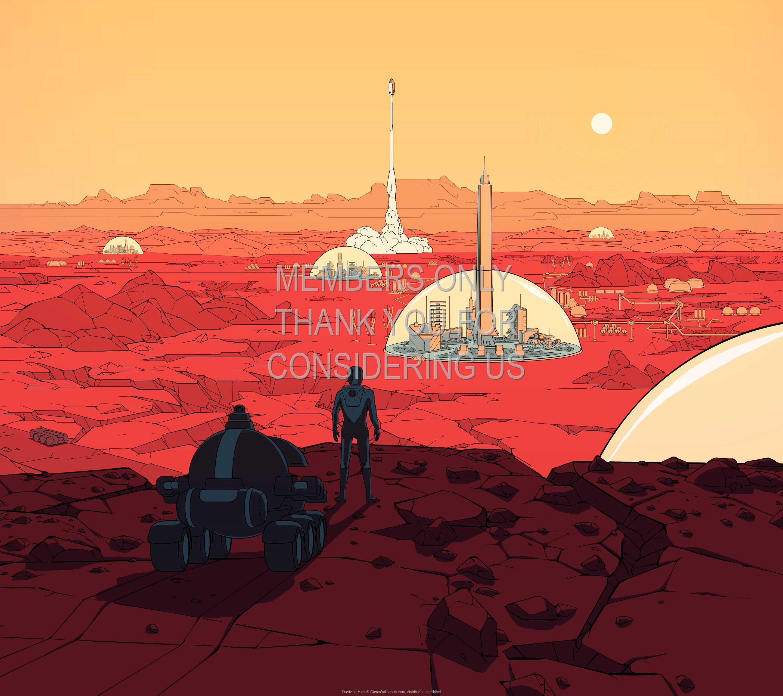 Surviving Mars 1440p Horizontal Handy Hintergrundbild 01