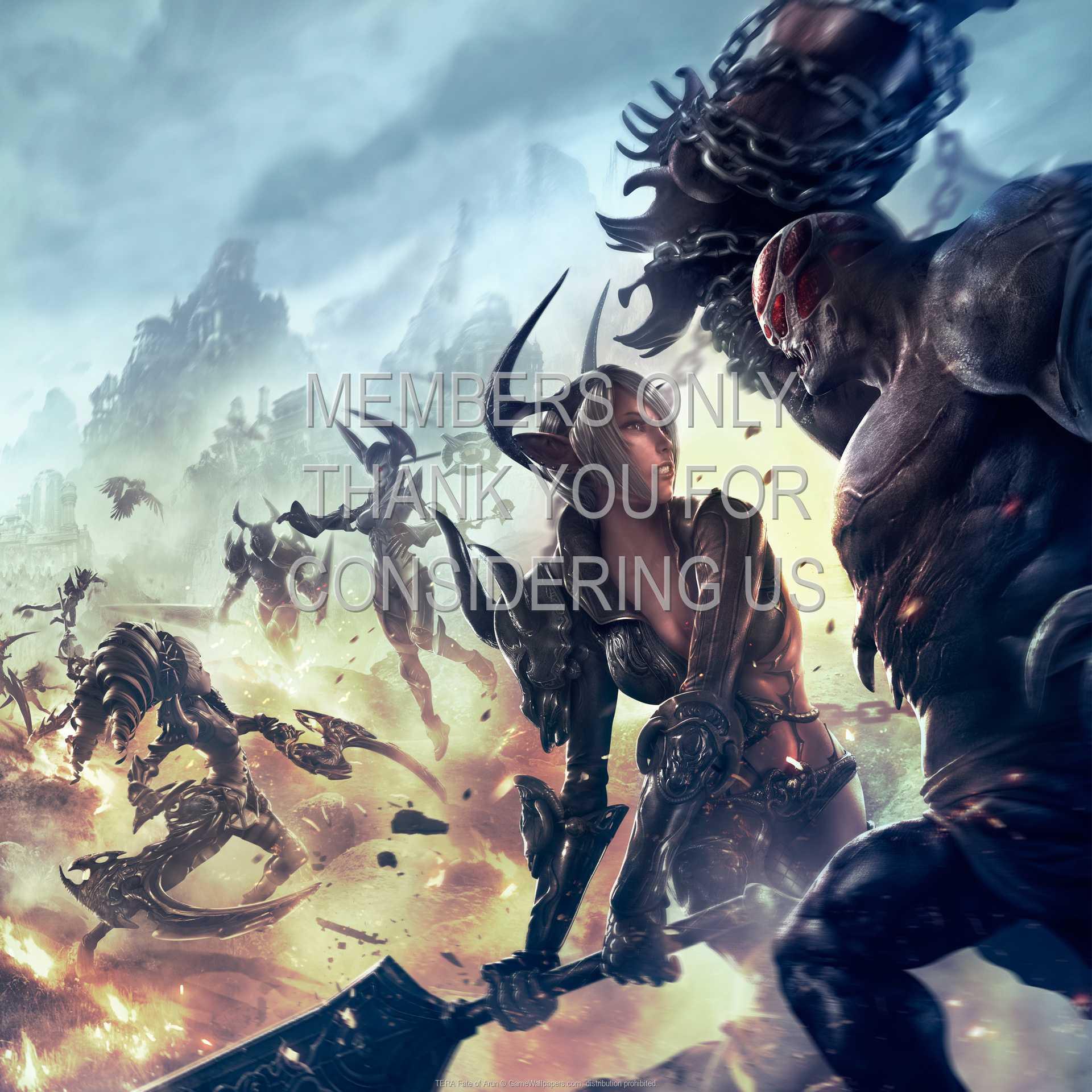 TERA: Fate of Arun 1080p Horizontal Handy Hintergrundbild 01