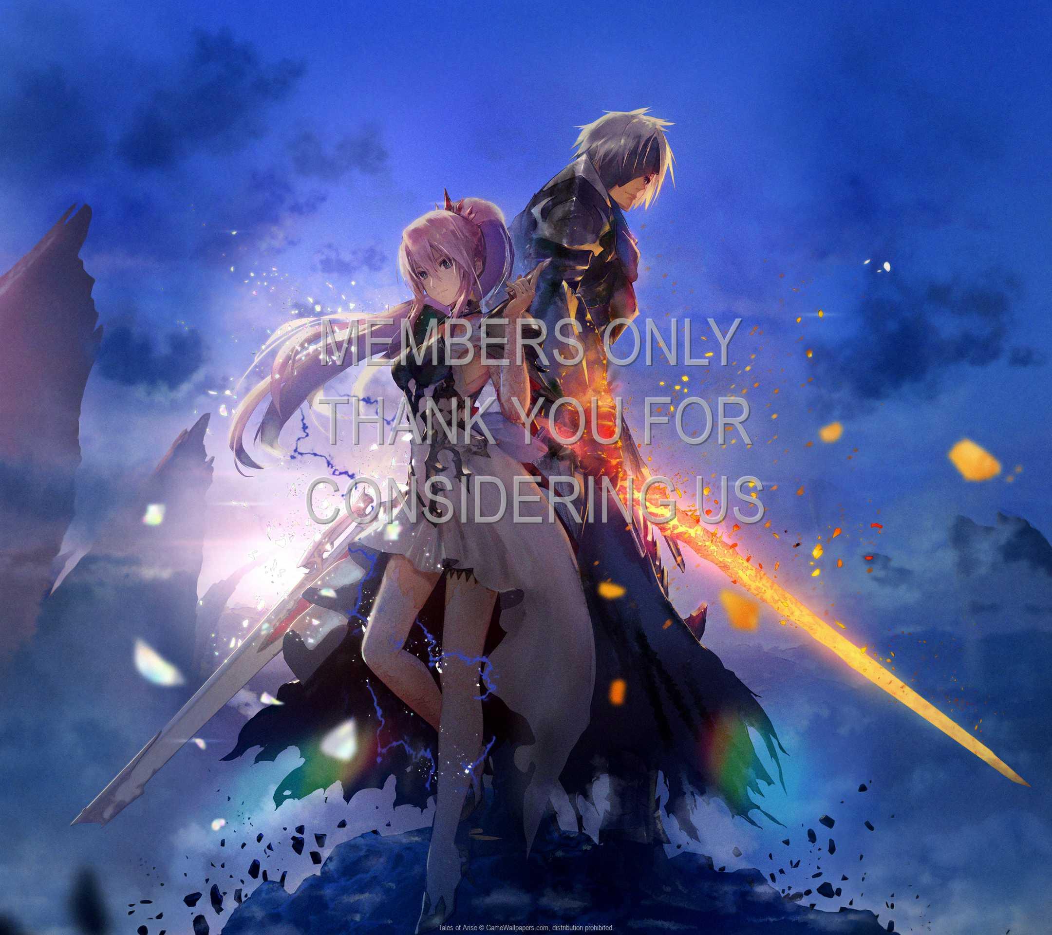 Tales of Arise 1080p Horizontal Mobile fond d'écran 02