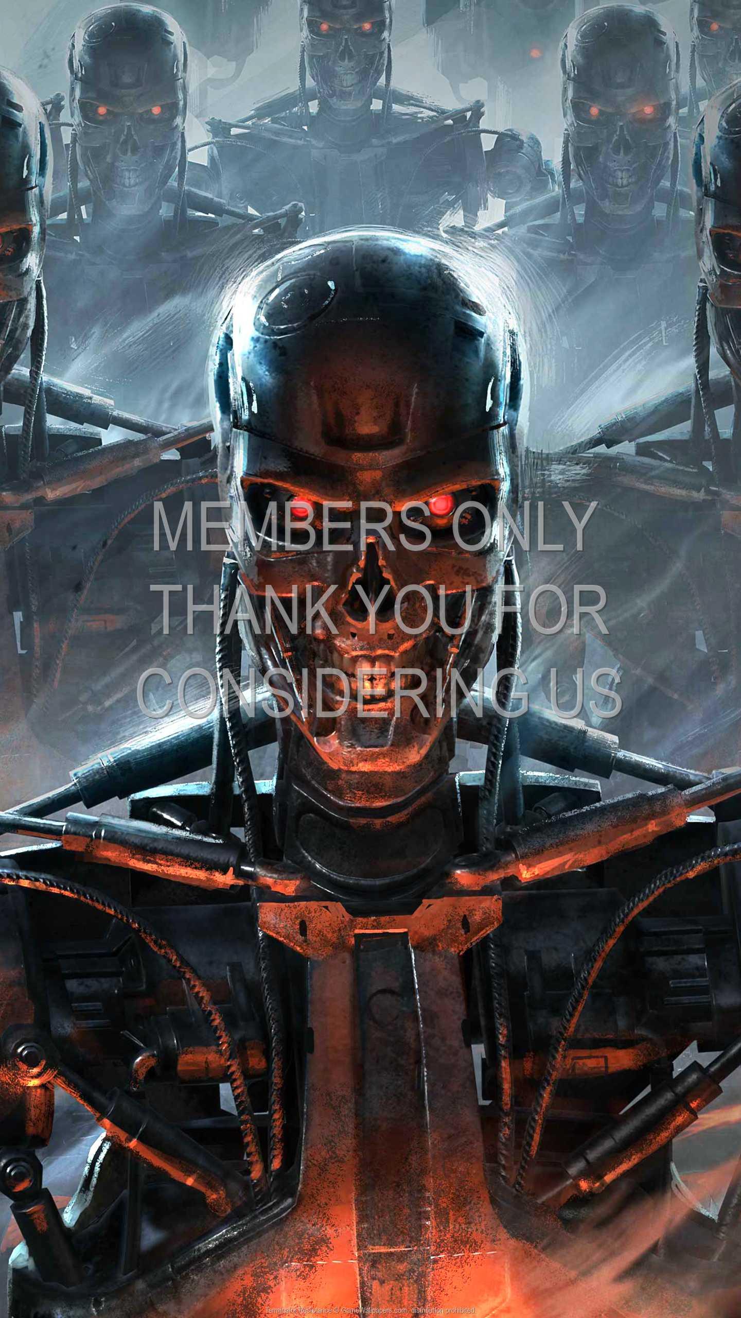 Terminator: Resistance 1440p Vertical Móvil fondo de escritorio 01