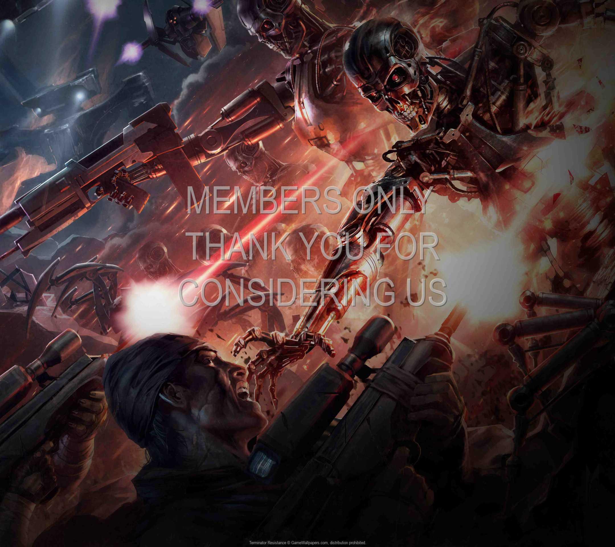 Terminator: Resistance 1080p Horizontal Móvil fondo de escritorio 02