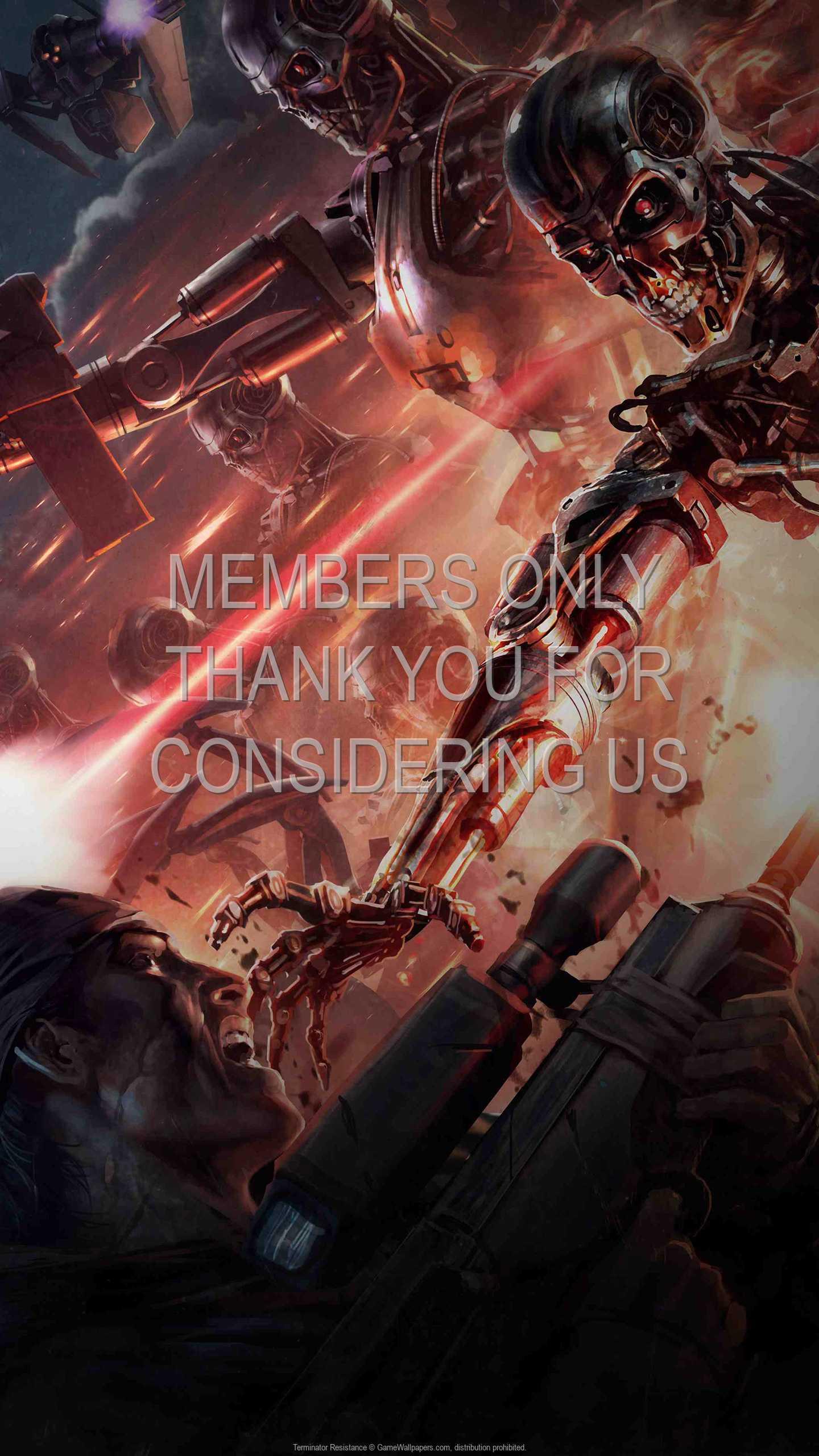 Terminator: Resistance 1440p Vertical Mobiele achtergrond 02