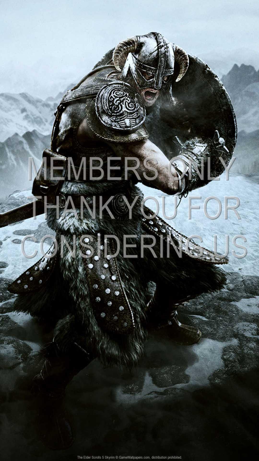 The Elder Scrolls 5: Skyrim 1080p Vertical Handy Hintergrundbild 03
