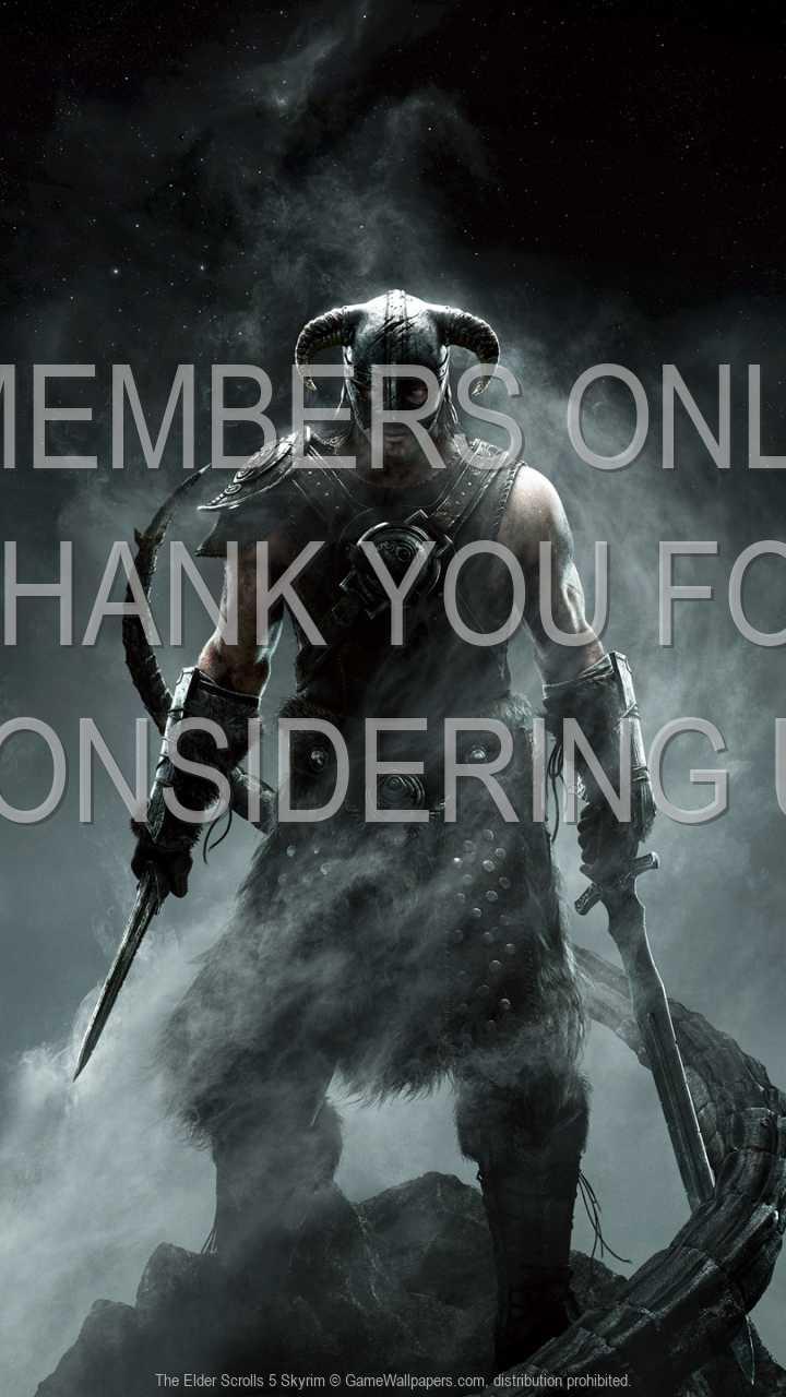 The Elder Scrolls 5: Skyrim 720p Vertical Handy Hintergrundbild 04