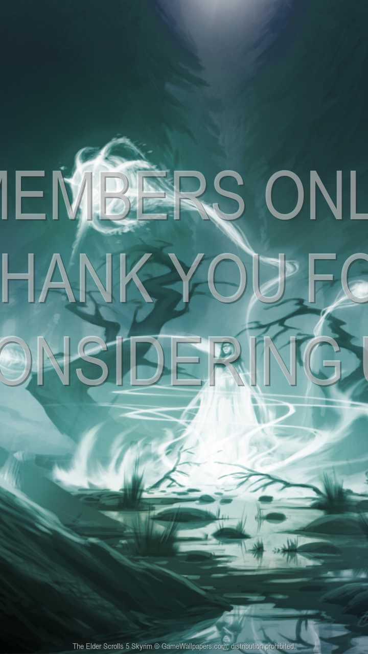 The Elder Scrolls 5: Skyrim 720p Vertical Handy Hintergrundbild 06