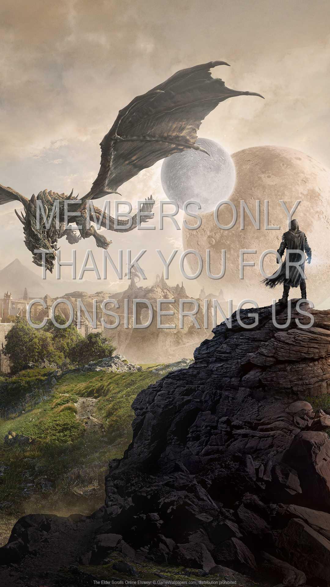 The Elder Scrolls Online: Elsweyr 1080p Vertical Mobiele achtergrond 01