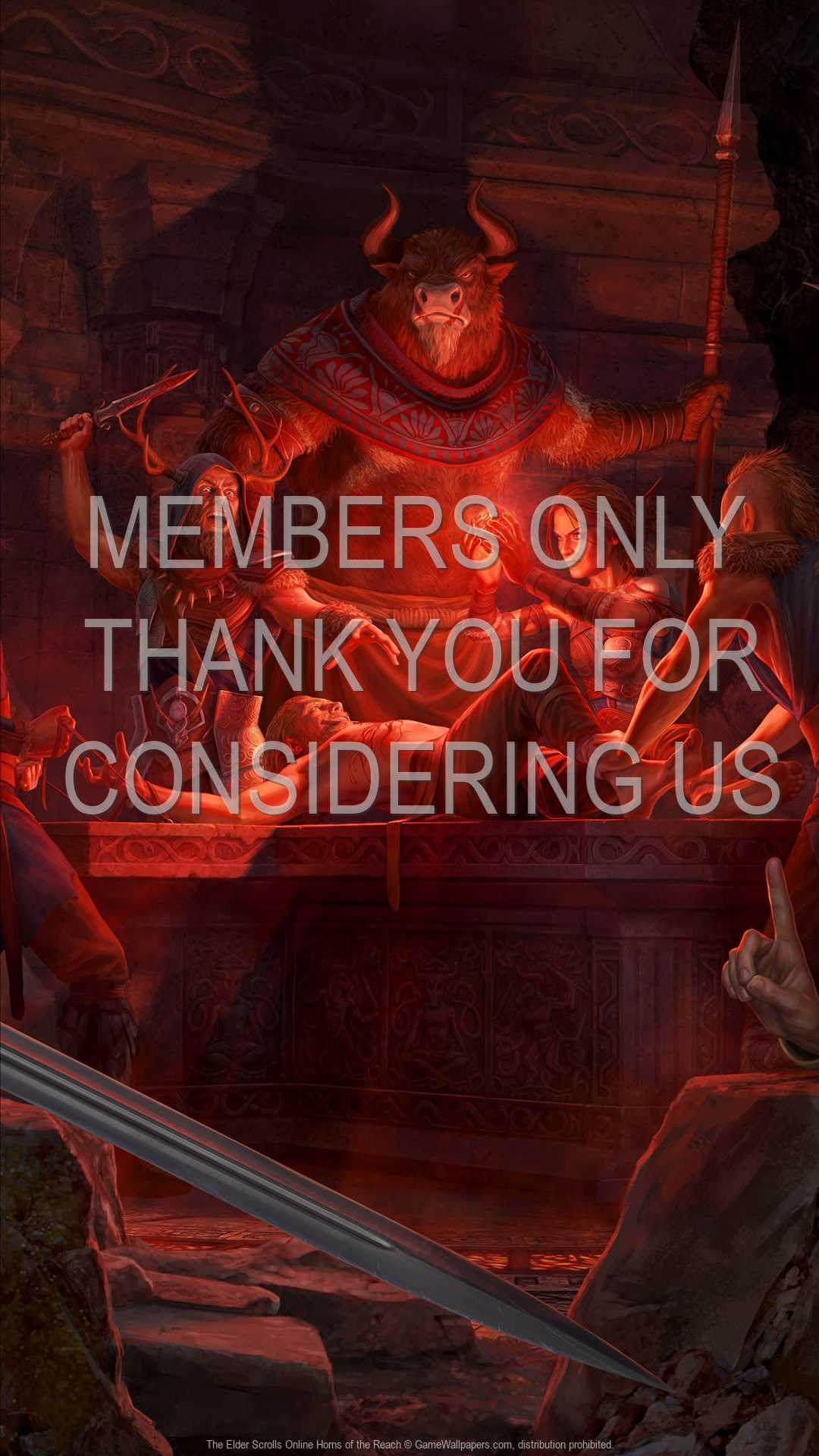 The Elder Scrolls Online: Horns of the Reach 1080p Vertical Mobile wallpaper or background 01