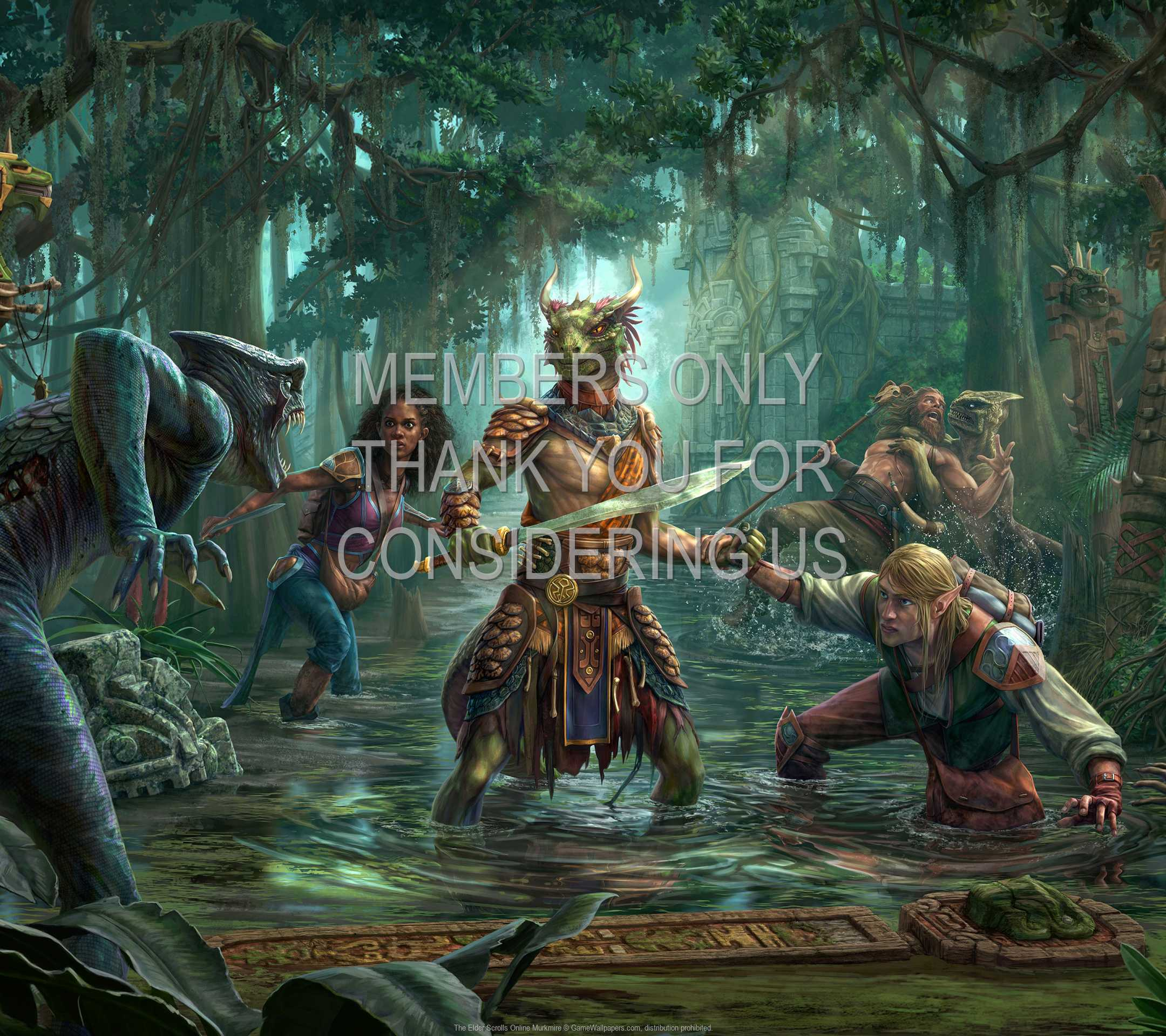 The Elder Scrolls Online: Murkmire 1080p Horizontal Mobile wallpaper or background 01