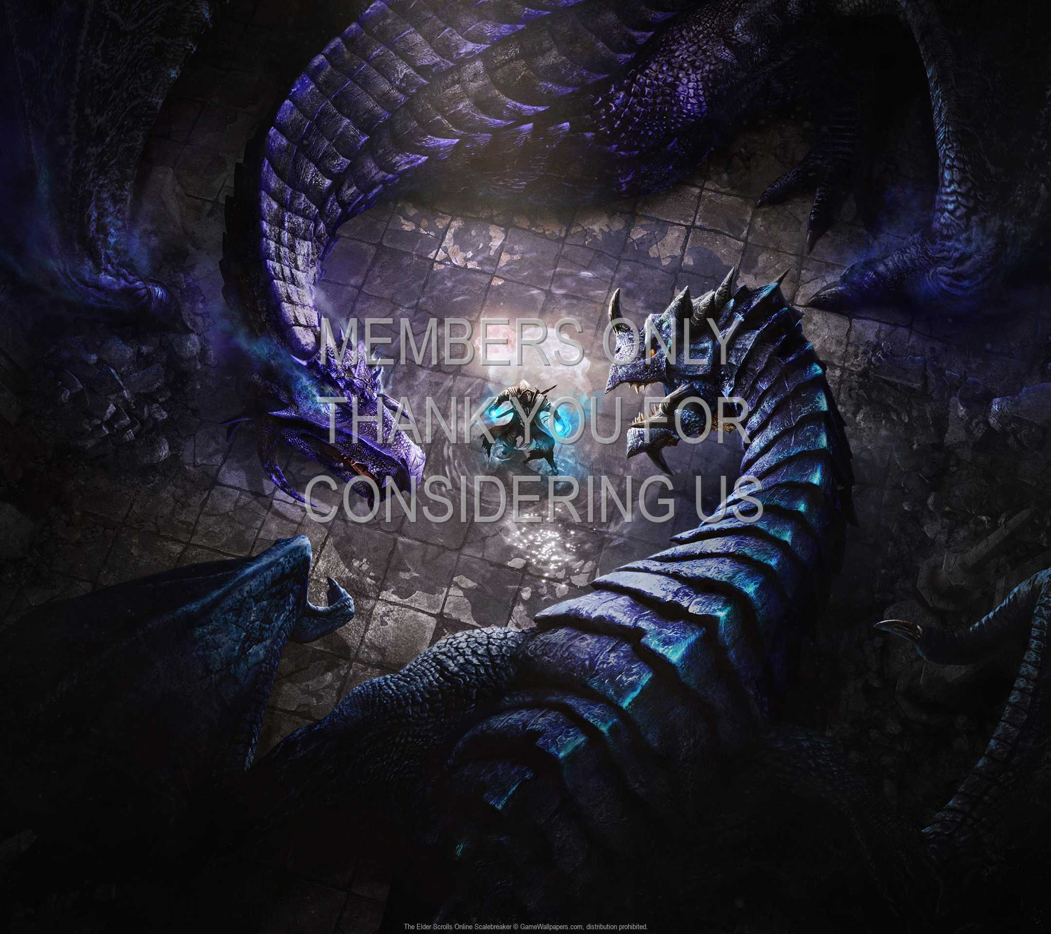 The Elder Scrolls Online: Scalebreaker 1080p Horizontal Móvil fondo de escritorio 01
