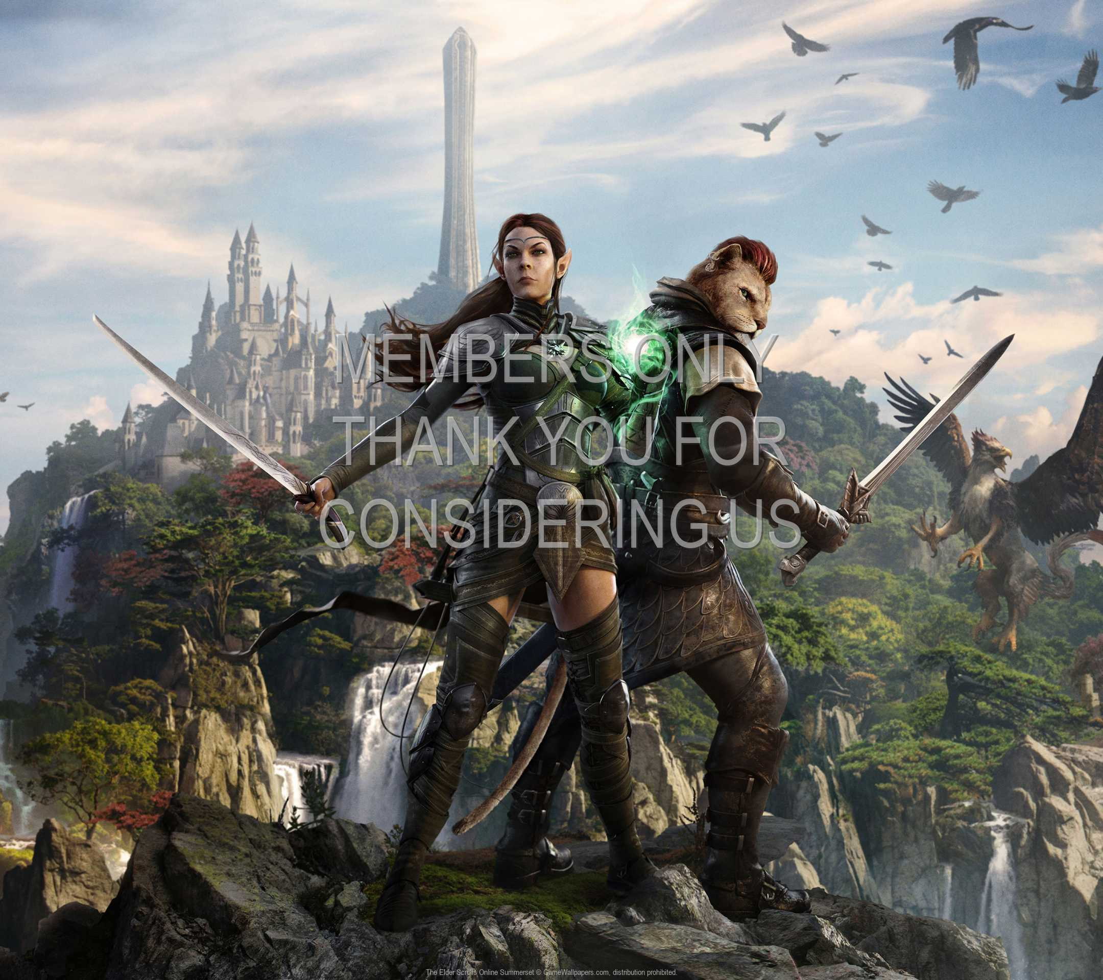 The Elder Scrolls Online: Summerset 1080p Horizontal Mobile wallpaper or background 01