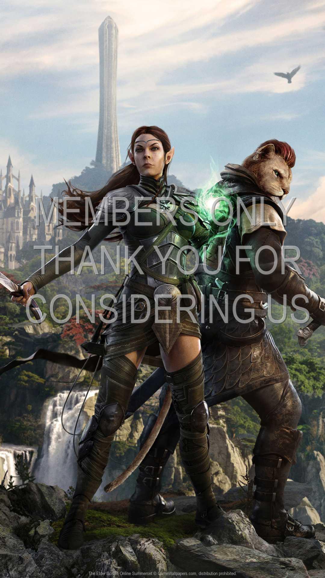The Elder Scrolls Online: Summerset 1080p Vertical Mobile wallpaper or background 01