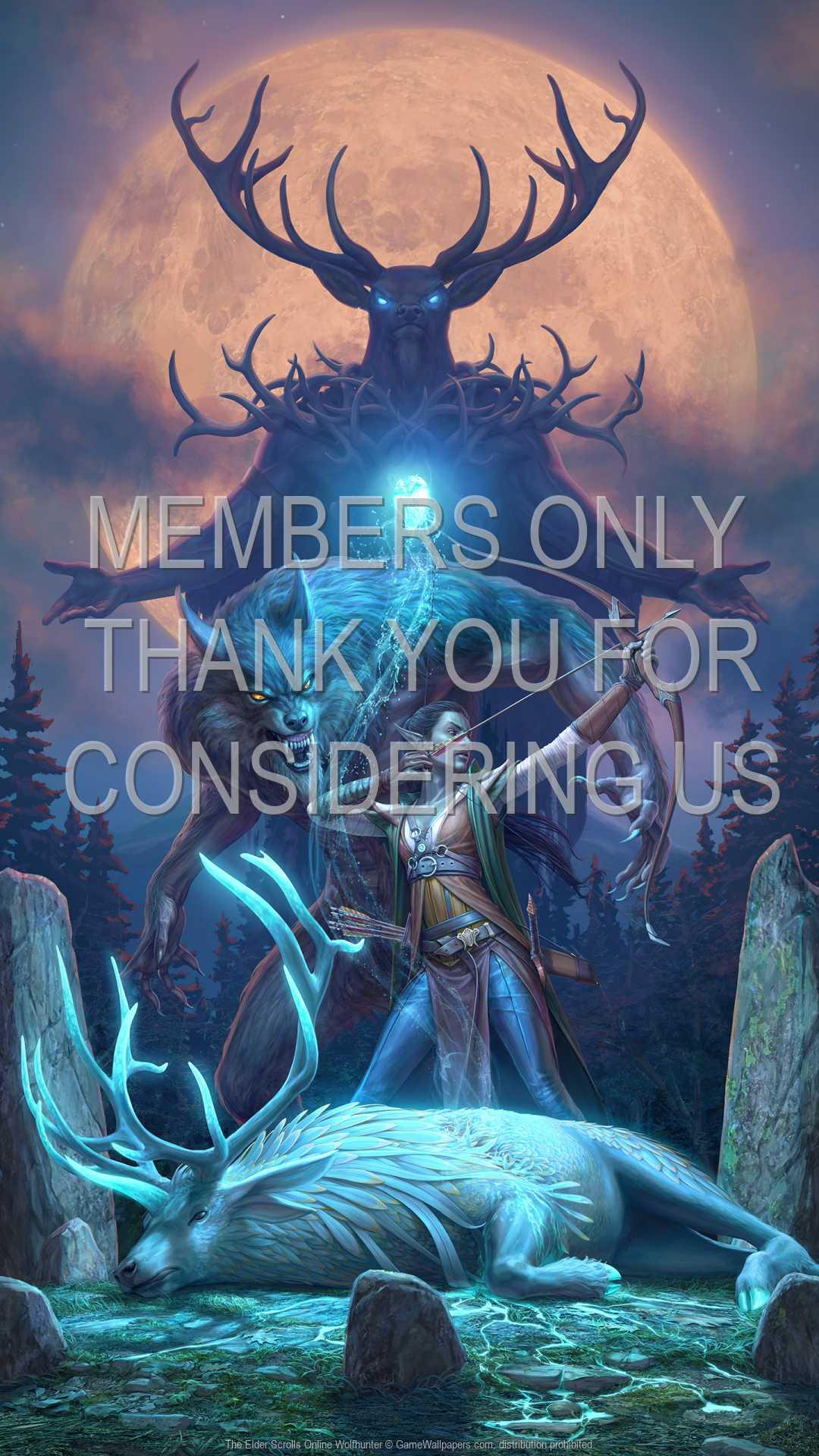 The Elder Scrolls Online: Wolfhunter 1080p Vertical Mobile wallpaper or background 01