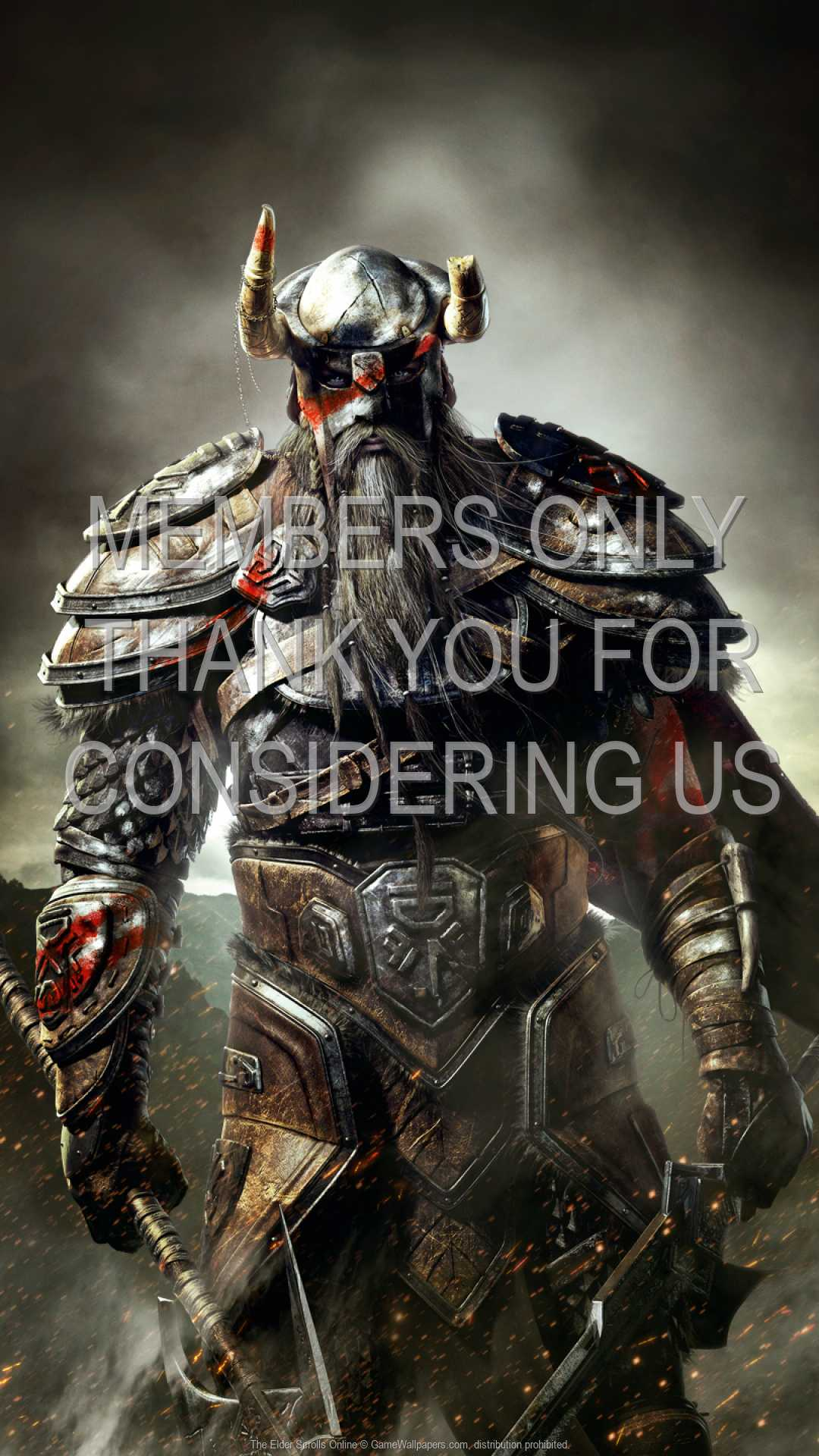 The Elder Scrolls Online 1080p Vertical Handy Hintergrundbild 02