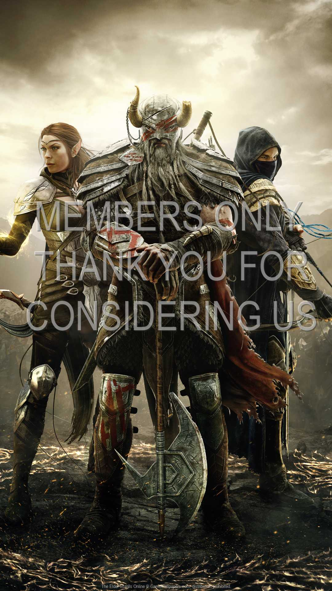 The Elder Scrolls Online 1080p Vertical Handy Hintergrundbild 09