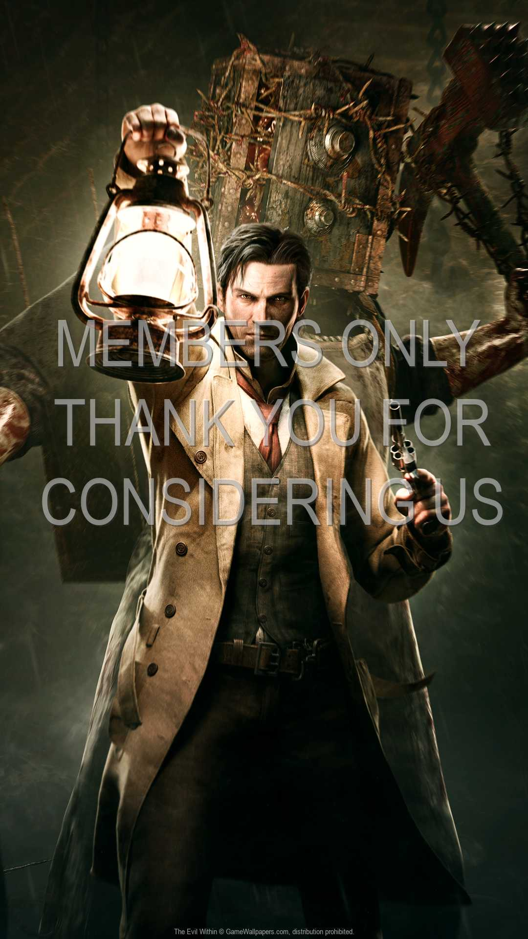 The Evil Within 1080p Vertical Mobile wallpaper or background 02