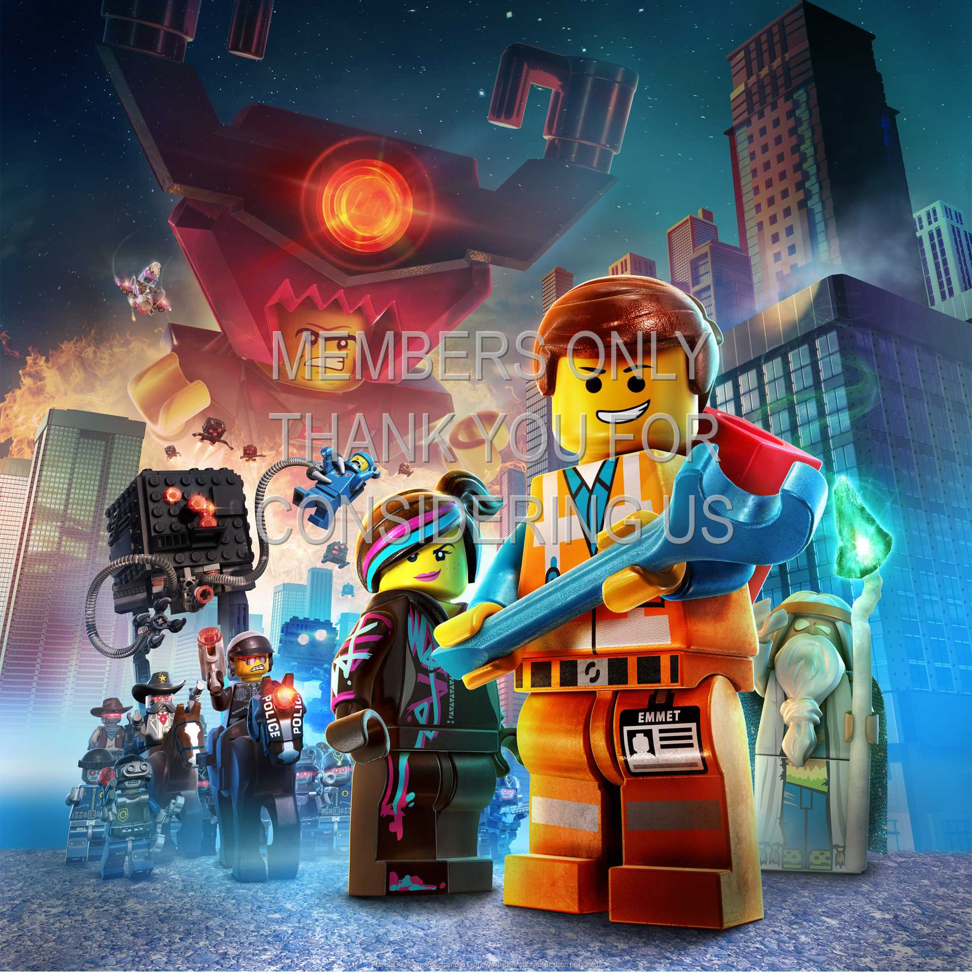 The LEGO Movie Videogame 1080p Horizontal Mobile wallpaper or background 01