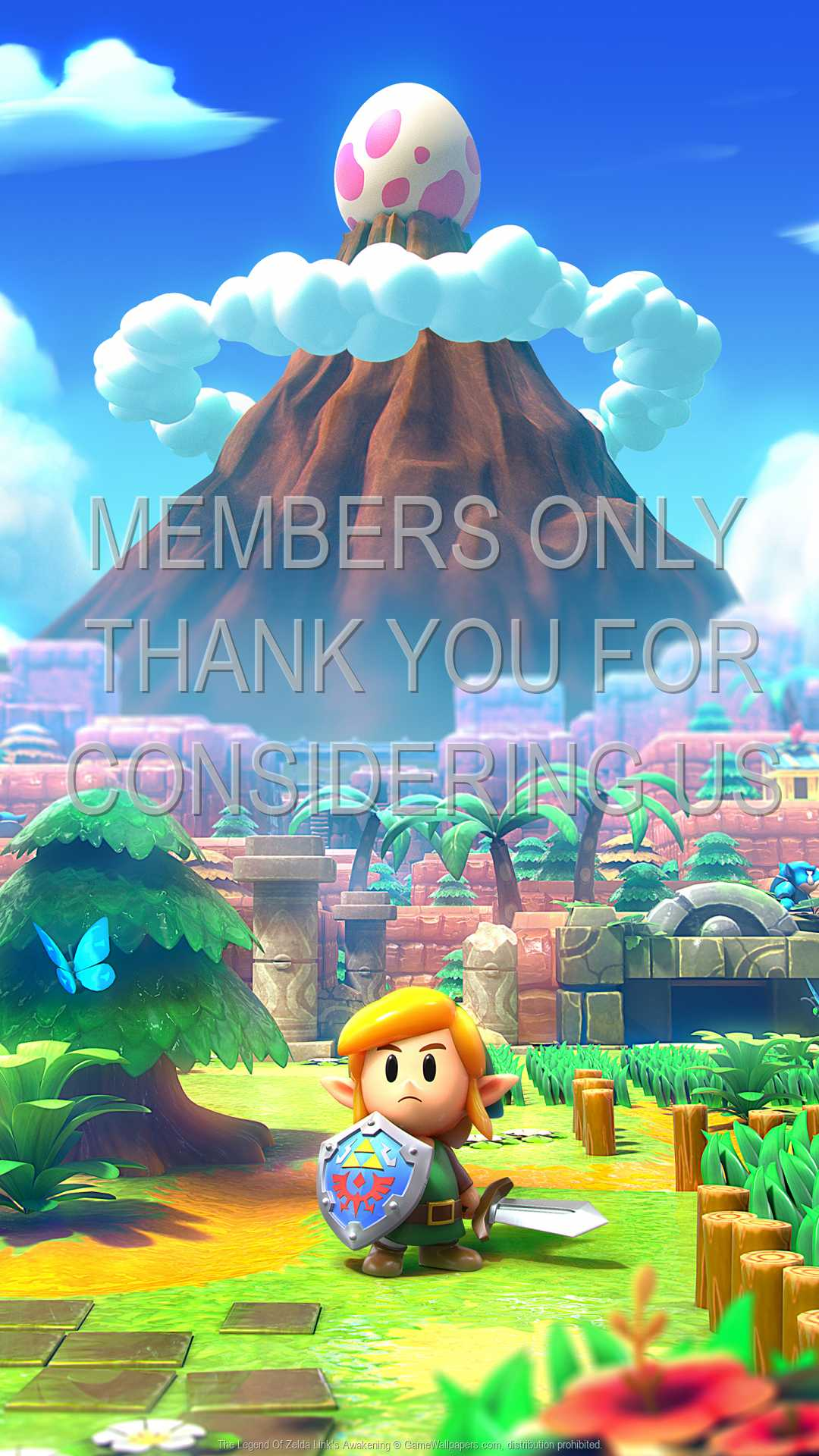 The Legend Of Zelda: Link's Awakening 1080p Vertical Mobile wallpaper or background 01