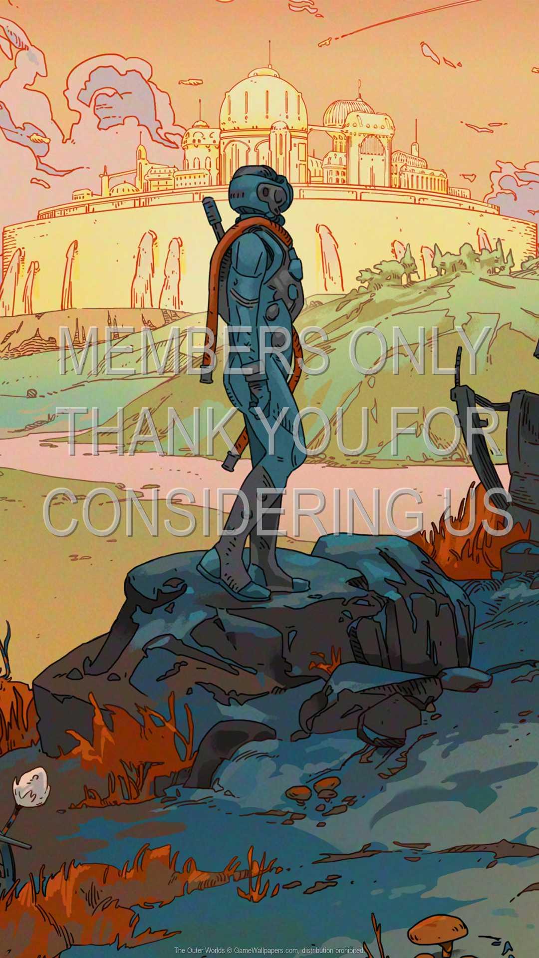 The Outer Worlds 1080p Vertical Móvil fondo de escritorio 02