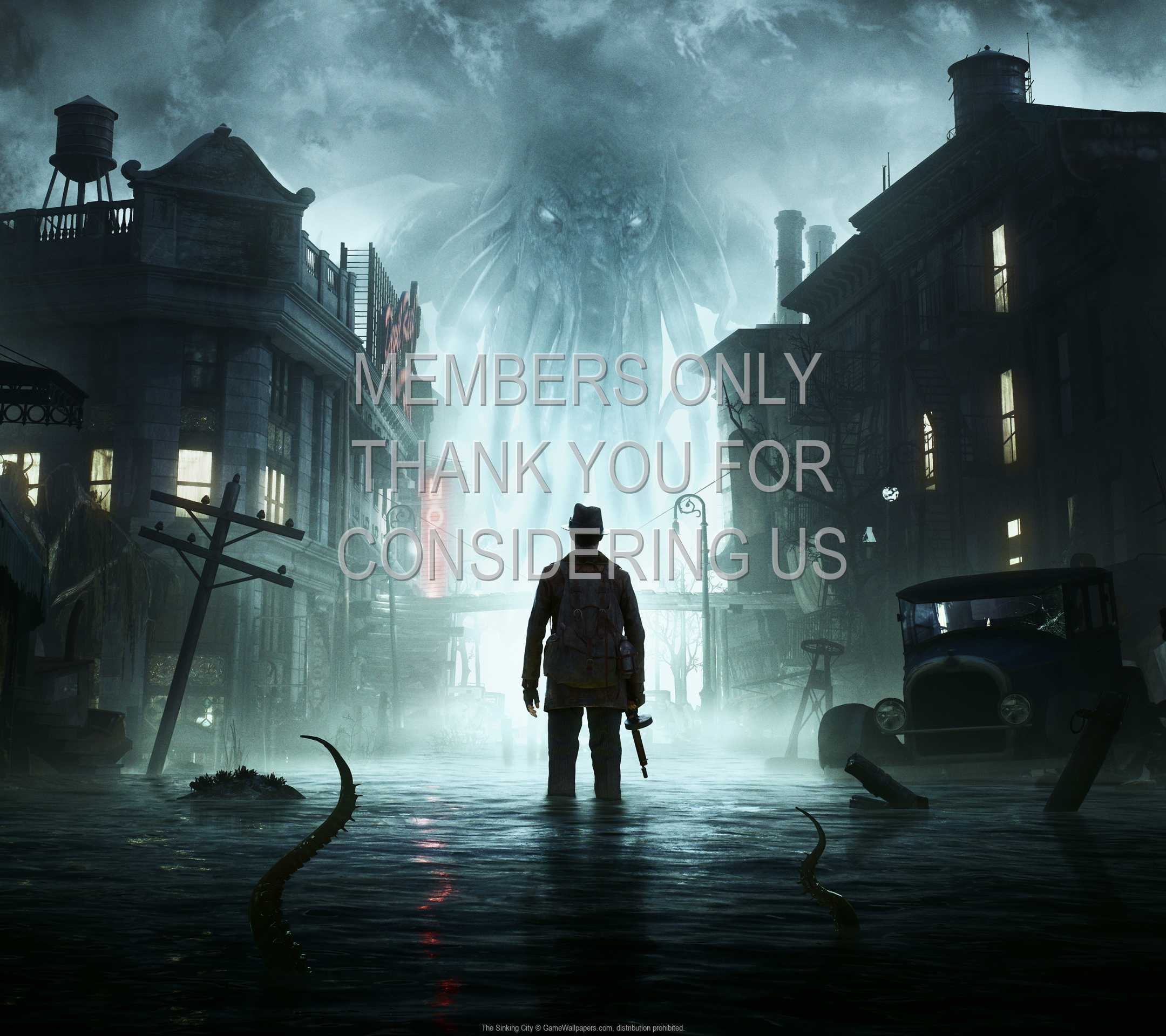 The Sinking City 1080p Horizontal Mobiele achtergrond 01