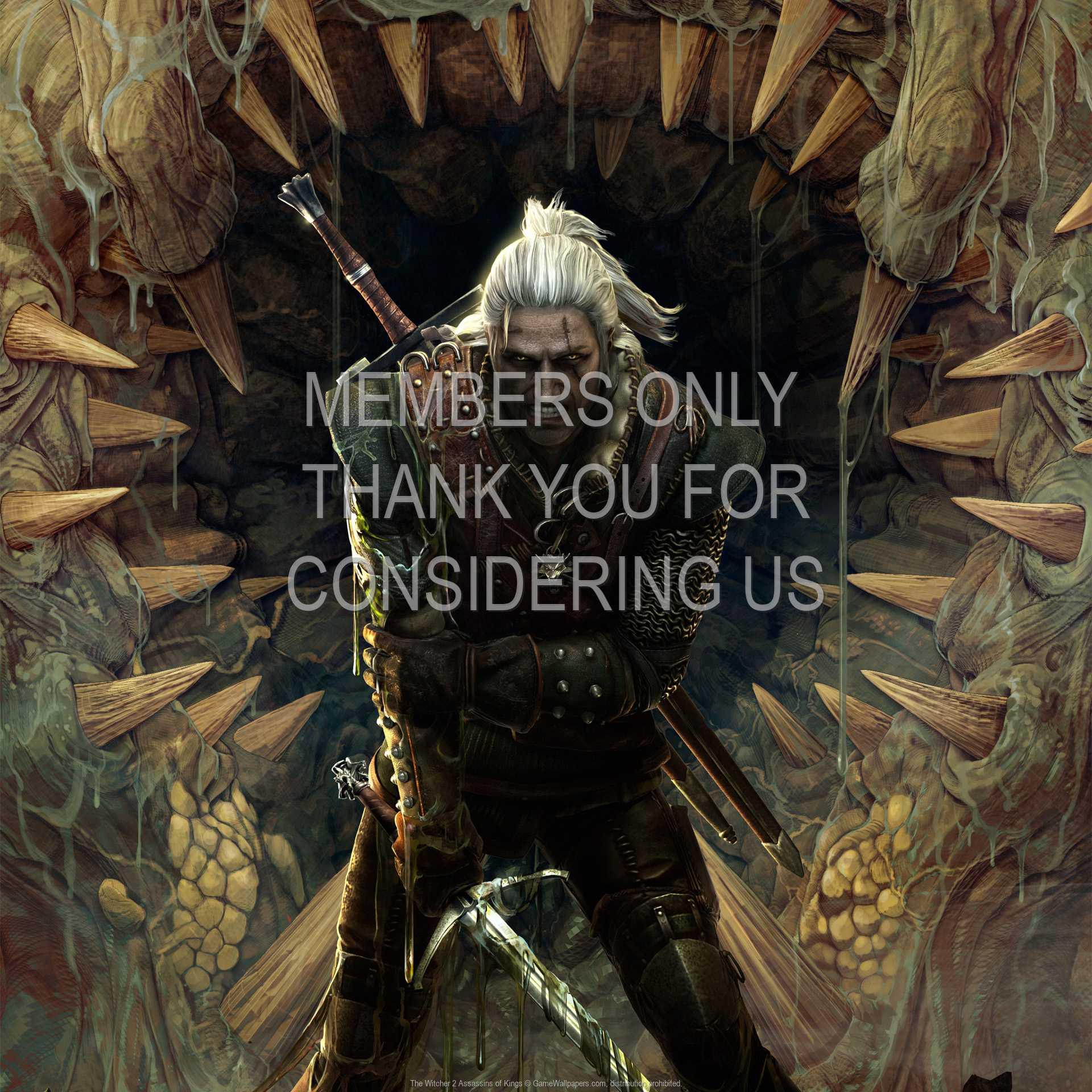 The Witcher 2: Assassins of Kings 1080p Horizontal Handy Hintergrundbild 04