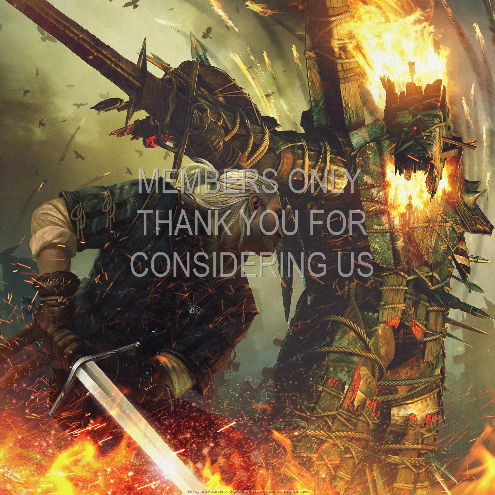 The Witcher 2: Assassins of Kings 1080p Horizontal Handy Hintergrundbild 05