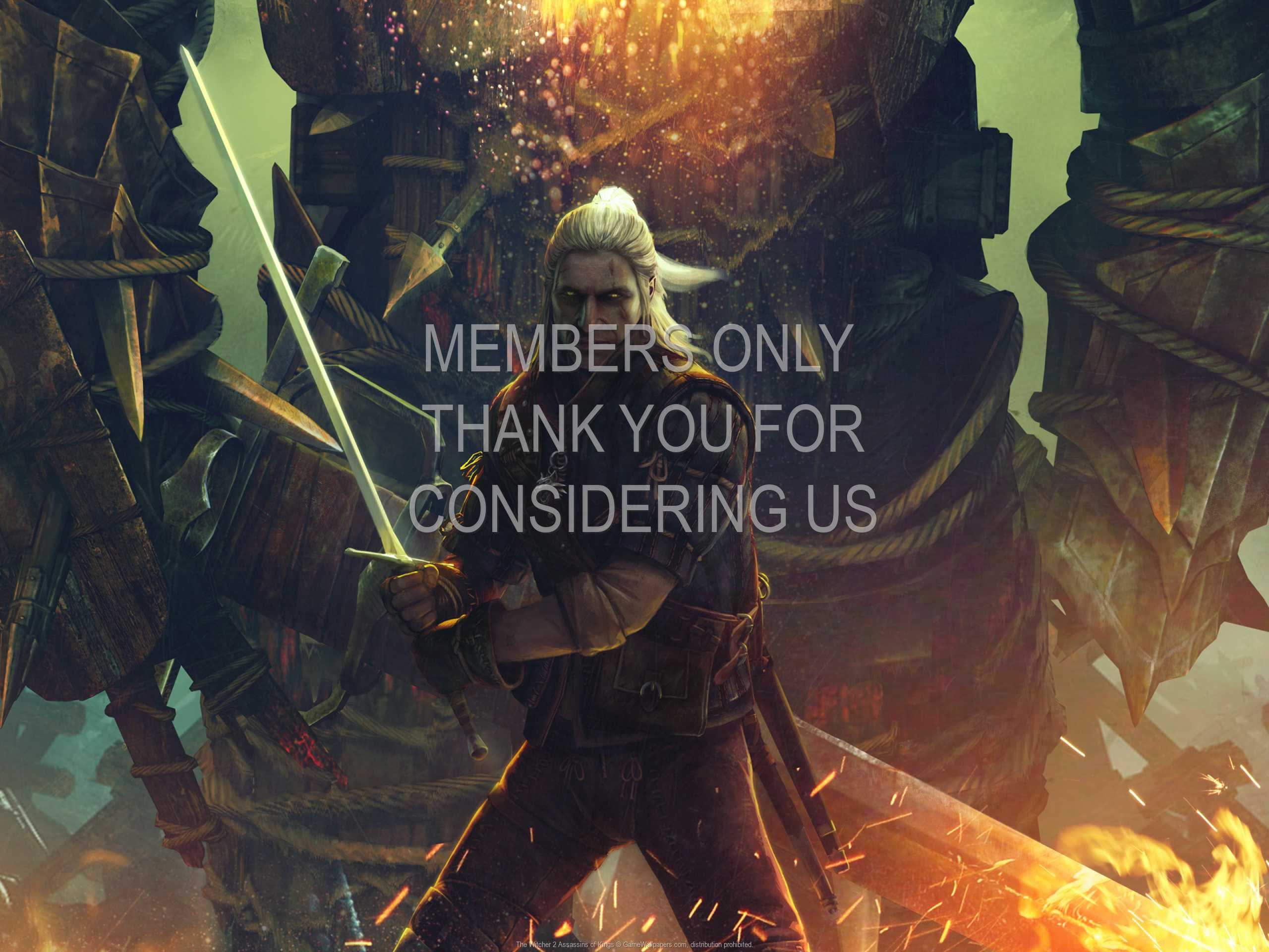 The Witcher 2: Assassins of Kings 1080p Horizontal Handy Hintergrundbild 07