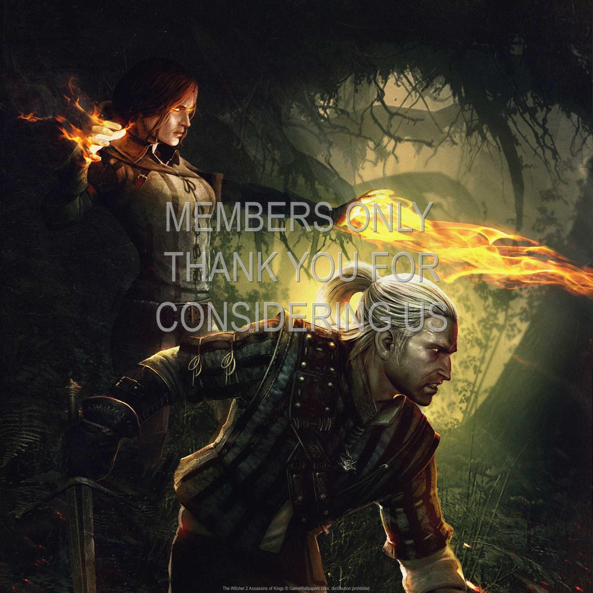 The Witcher 2: Assassins of Kings 1080p Horizontal Handy Hintergrundbild 08