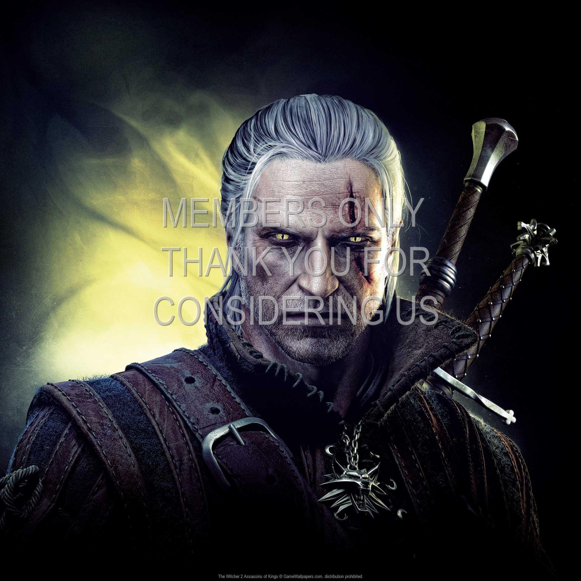 The Witcher 2: Assassins of Kings 1080p Horizontal Handy Hintergrundbild 09