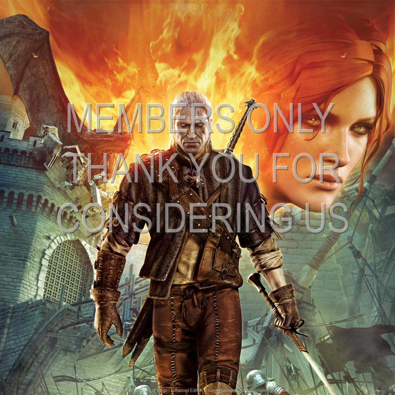 The Witcher 2: Assassins of Kings - Enhanced Edition 720p Horizontal Mobile wallpaper or background 02
