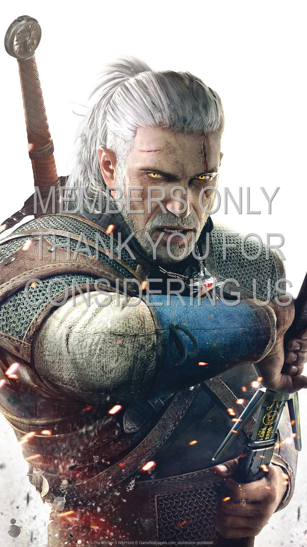 The Witcher 3: Wild Hunt 1080p Vertical Handy Hintergrundbild 16