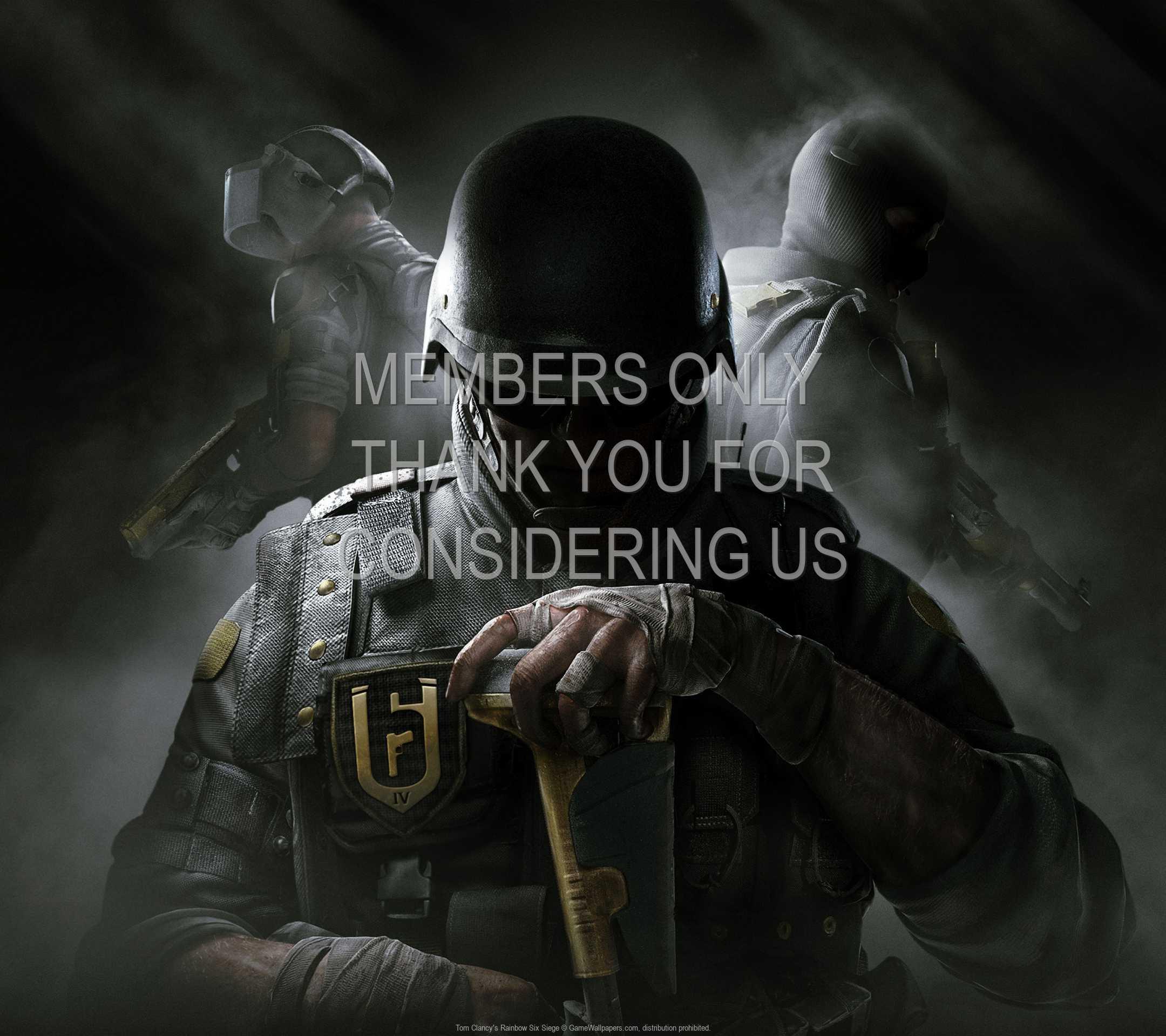 Tom Clancy's Rainbow Six: Siege 1080p Horizontal Mobiele achtergrond 05