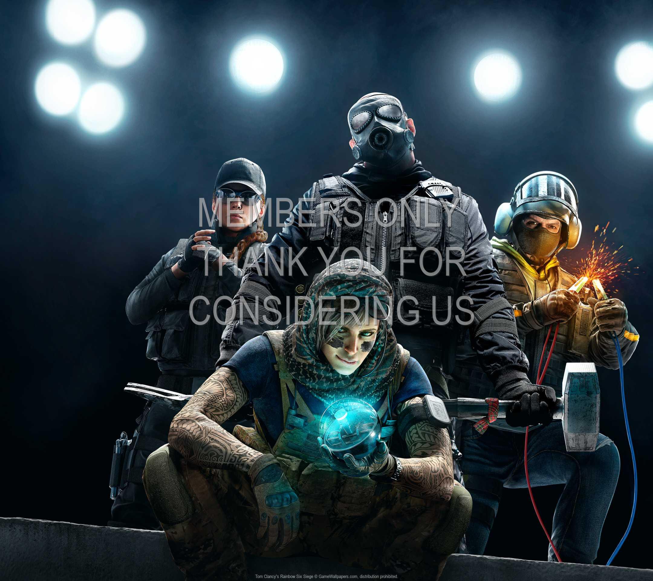 Tom Clancy's Rainbow Six: Siege 1080p Horizontal Handy Hintergrundbild 06