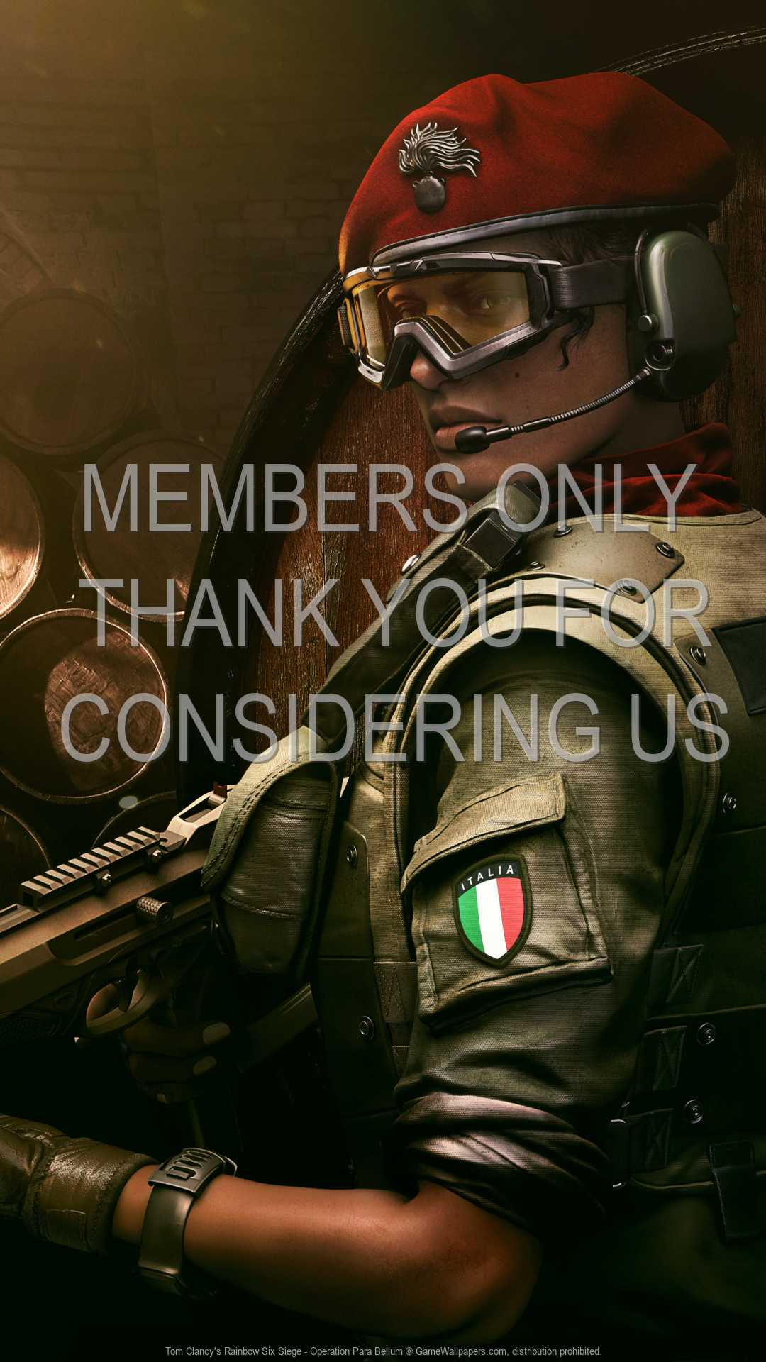 Tom Clancy's Rainbow Six: Siege - Operation Para Bellum 1080p Vertical Mobile wallpaper or background 02